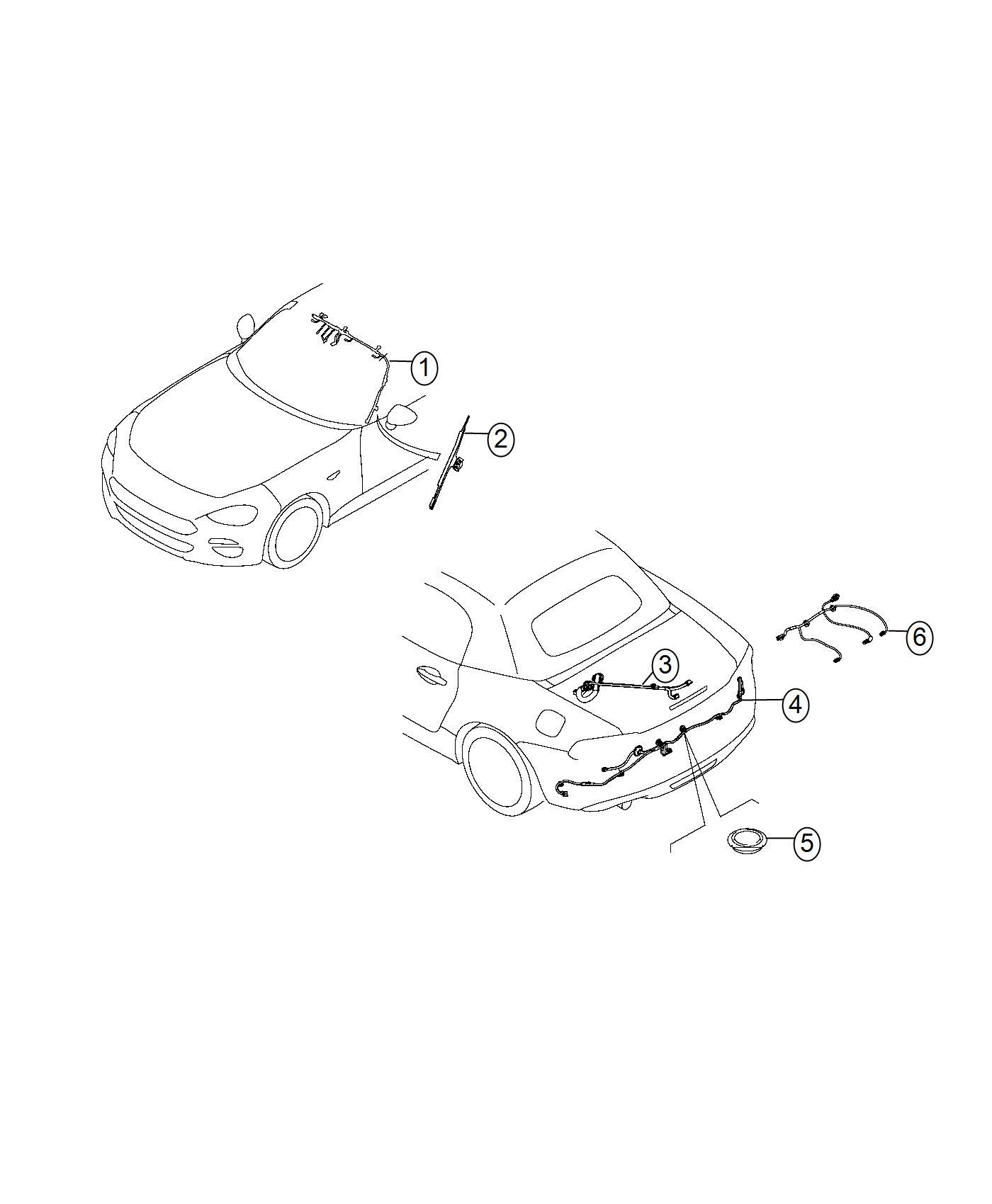 Fiat Spider Shield Wiring