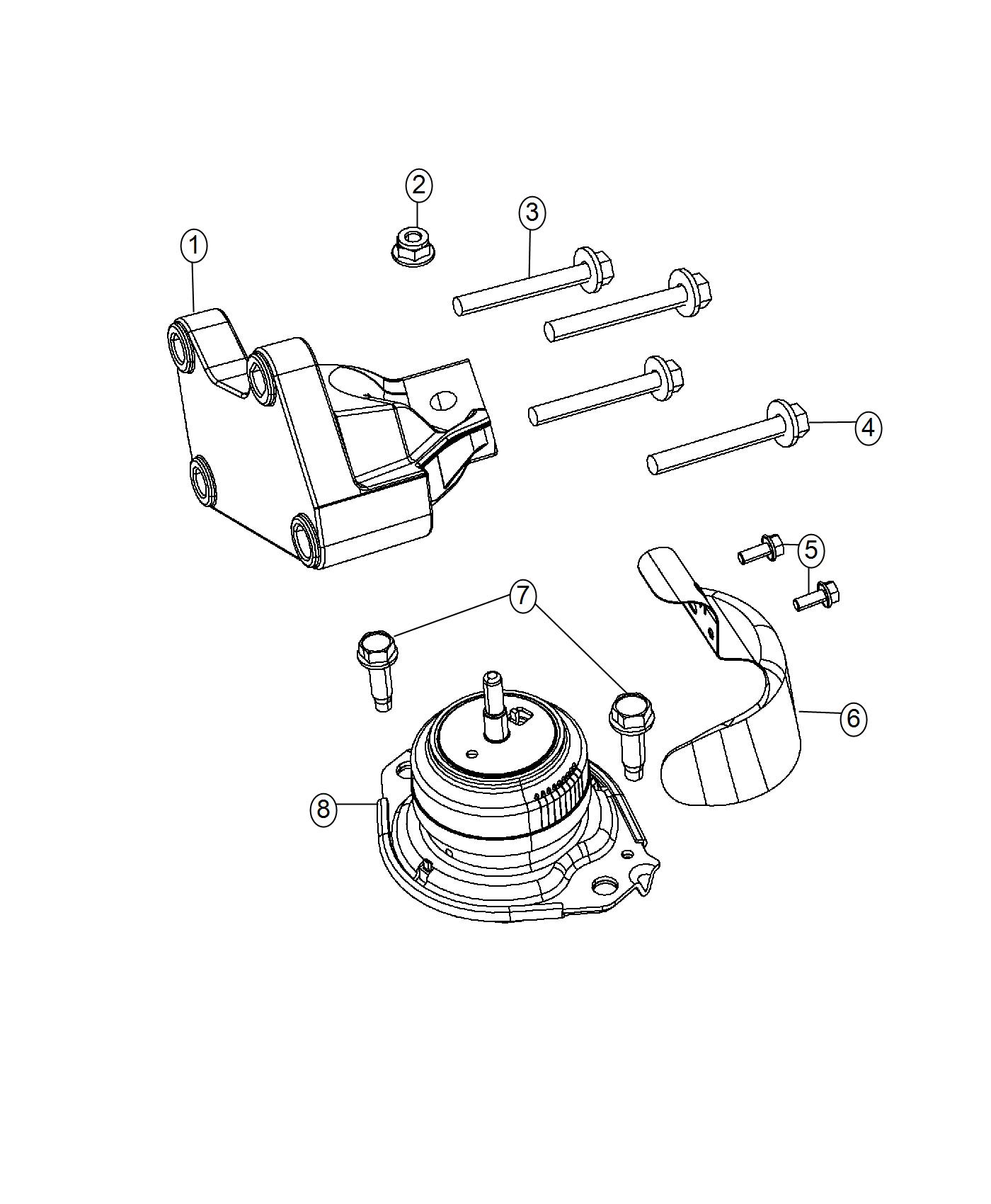 Jeep Grand Cherokee Heat Shield Right Side Engine