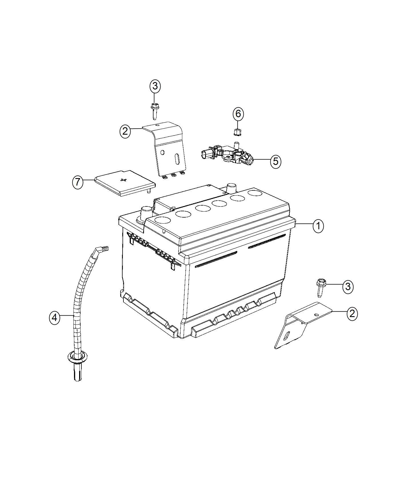 Dodge Viper Sensor Battery Wiring Tray Electrical