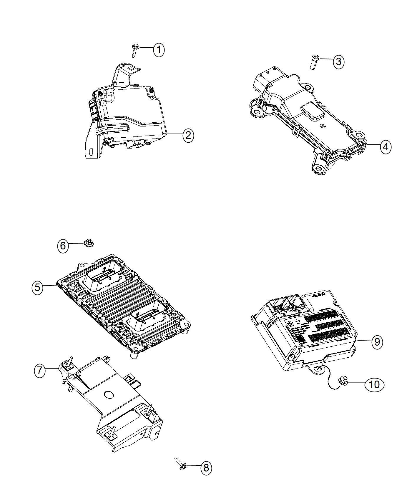 2017 Jeep Cherokee Module. Transfer case control. [dk2