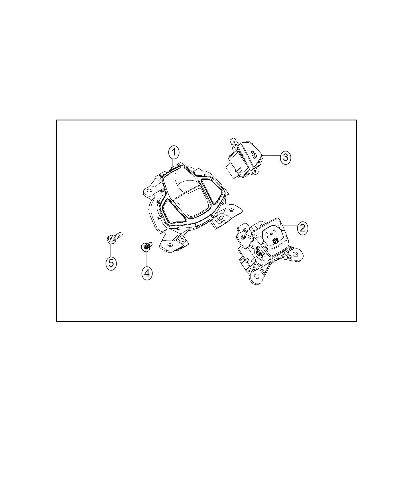 2017 Jeep Renegade Screw. Torx head. Export, us, canada