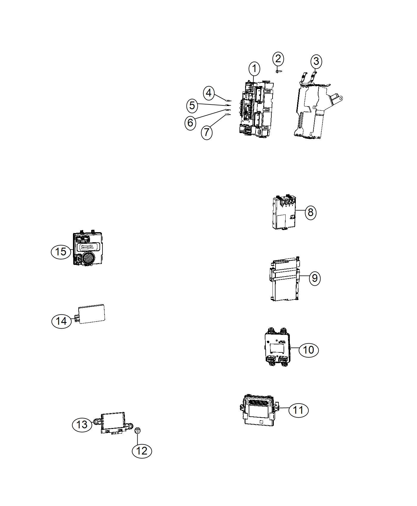 Jeep Compass Module. Liftgate. [power liftgate