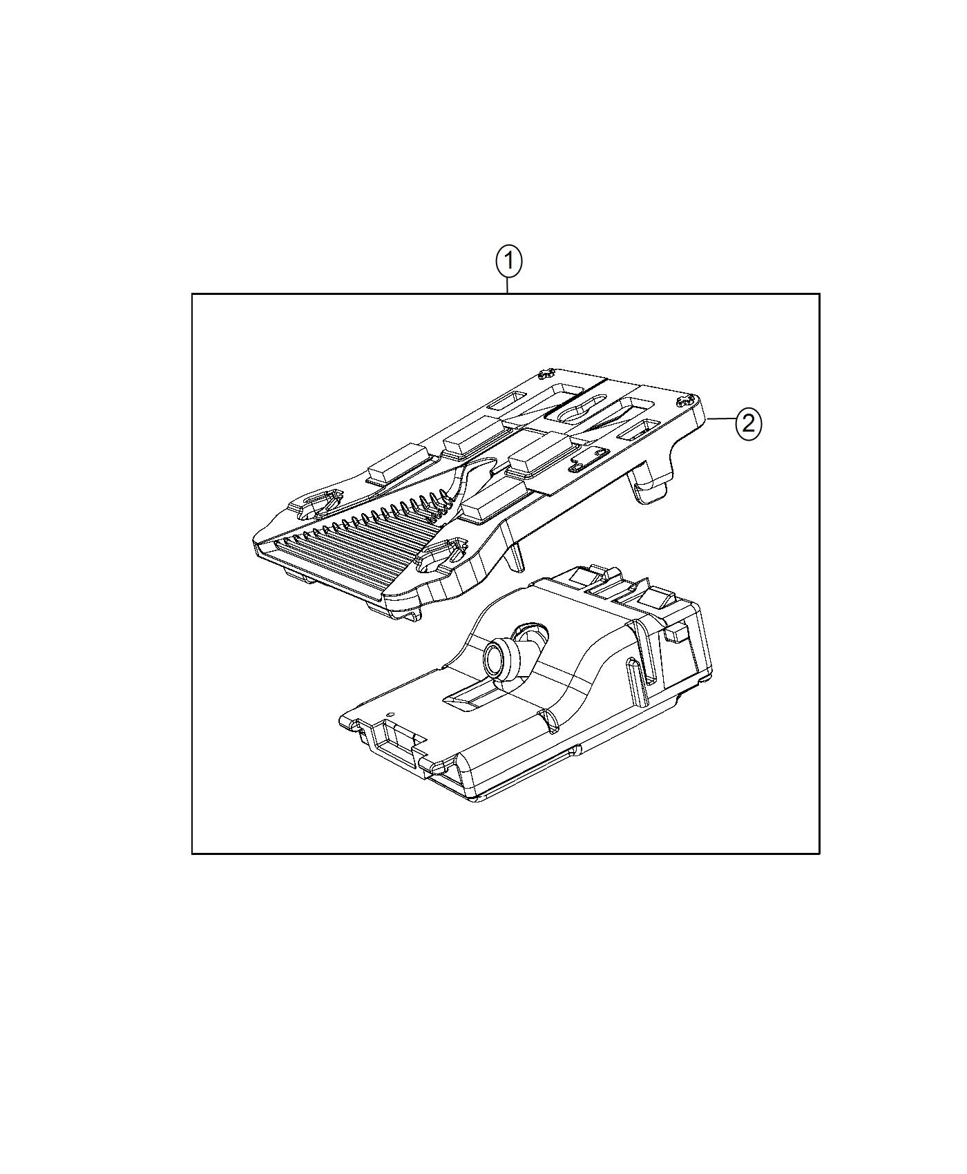 Jeep Compass Camera Forward Facing