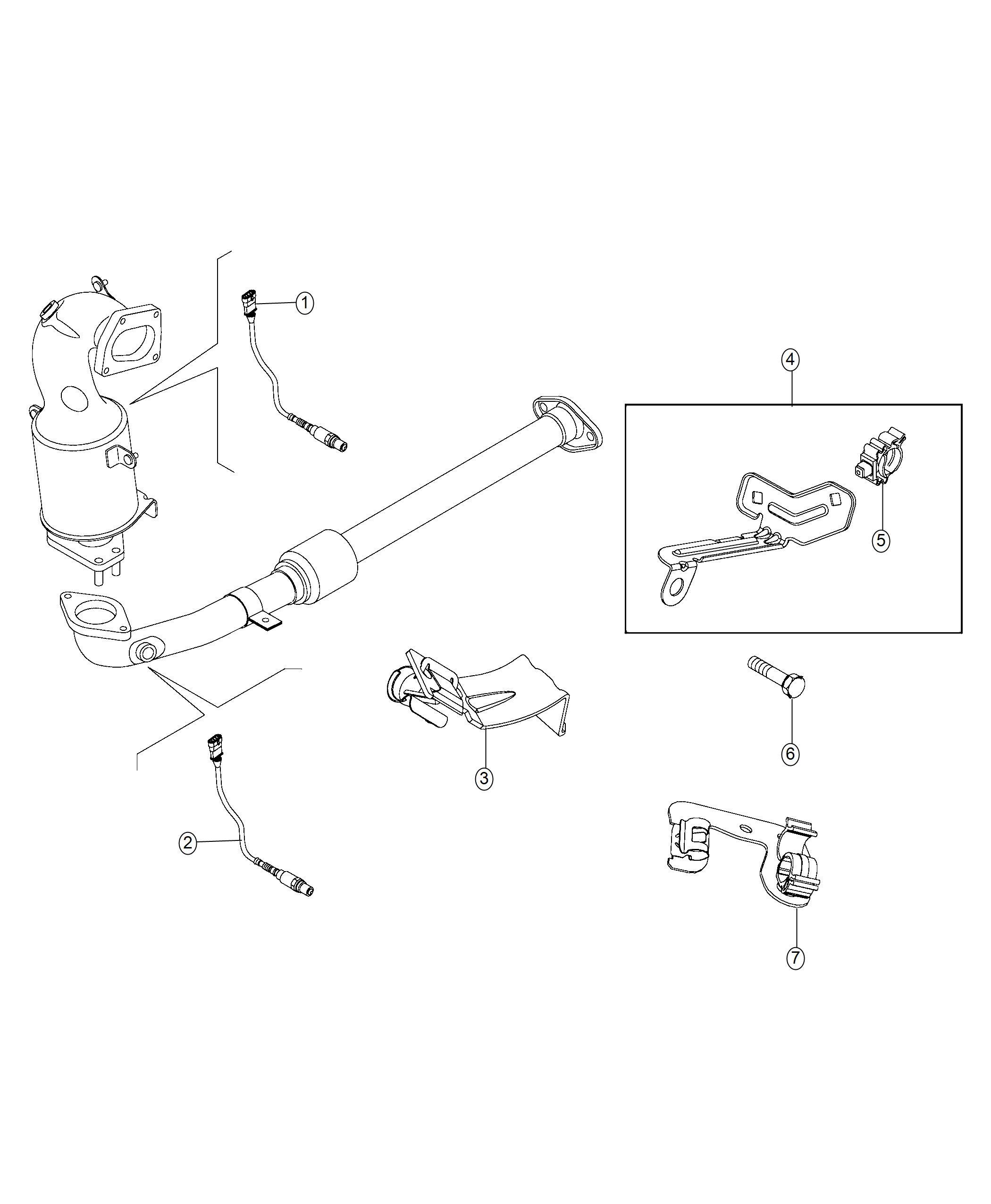 Jeep Renegade Bracket Wiring Power Train Parts Module