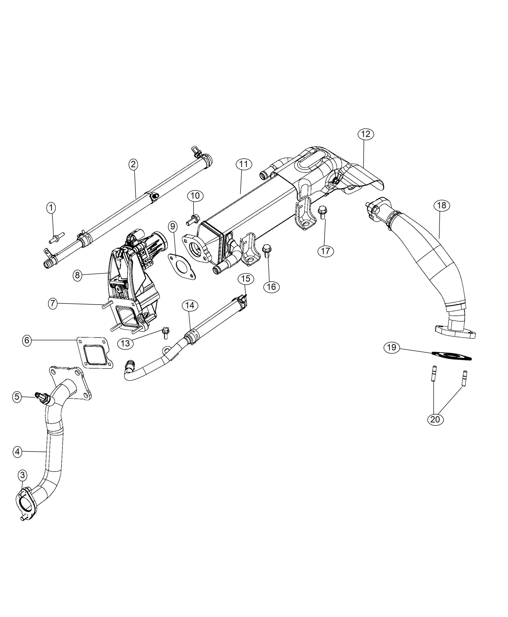 Ram Sensor Egr Temperature Engine Controller