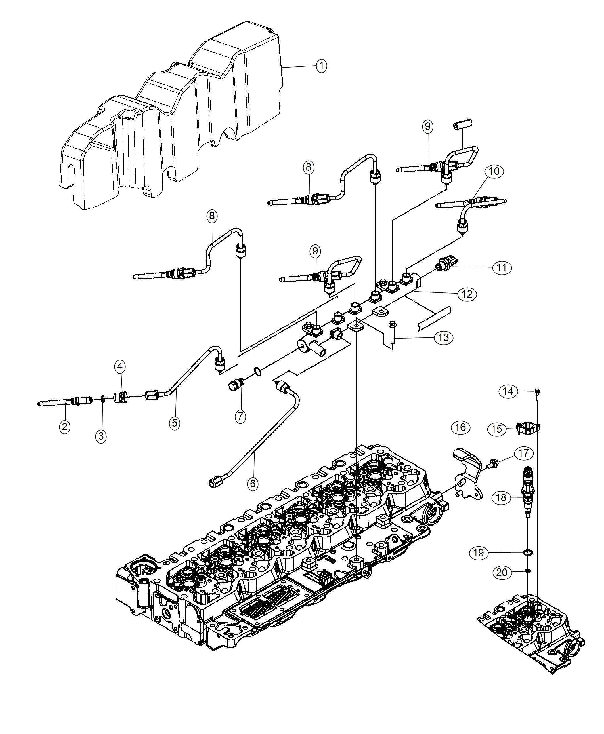 Ram Injector Fuel Emissions Export Underground