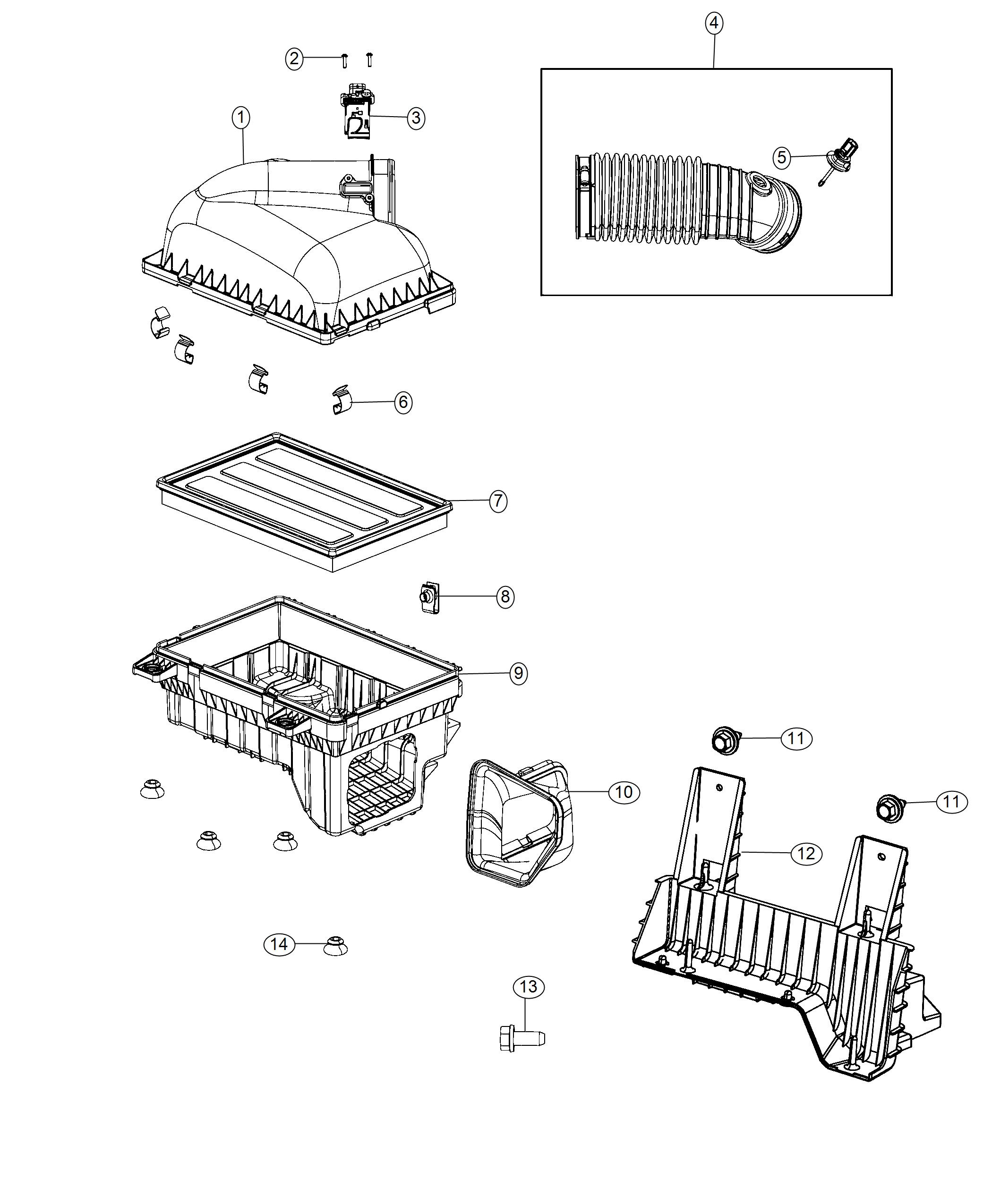 Ram Duct Ambient Air Cleaner