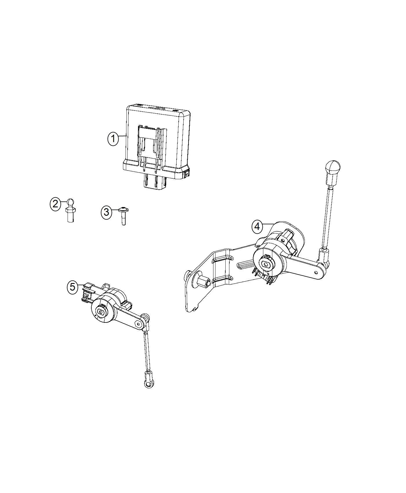 Chrysler 300 Sensor Headlamp Front Automatic