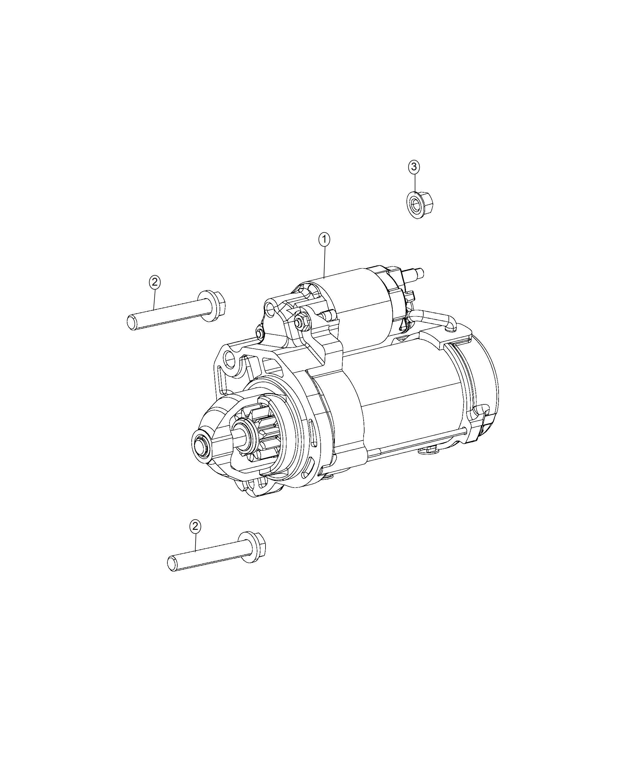 2018 Chrysler Pacifica Starter. Engine. Starters, related