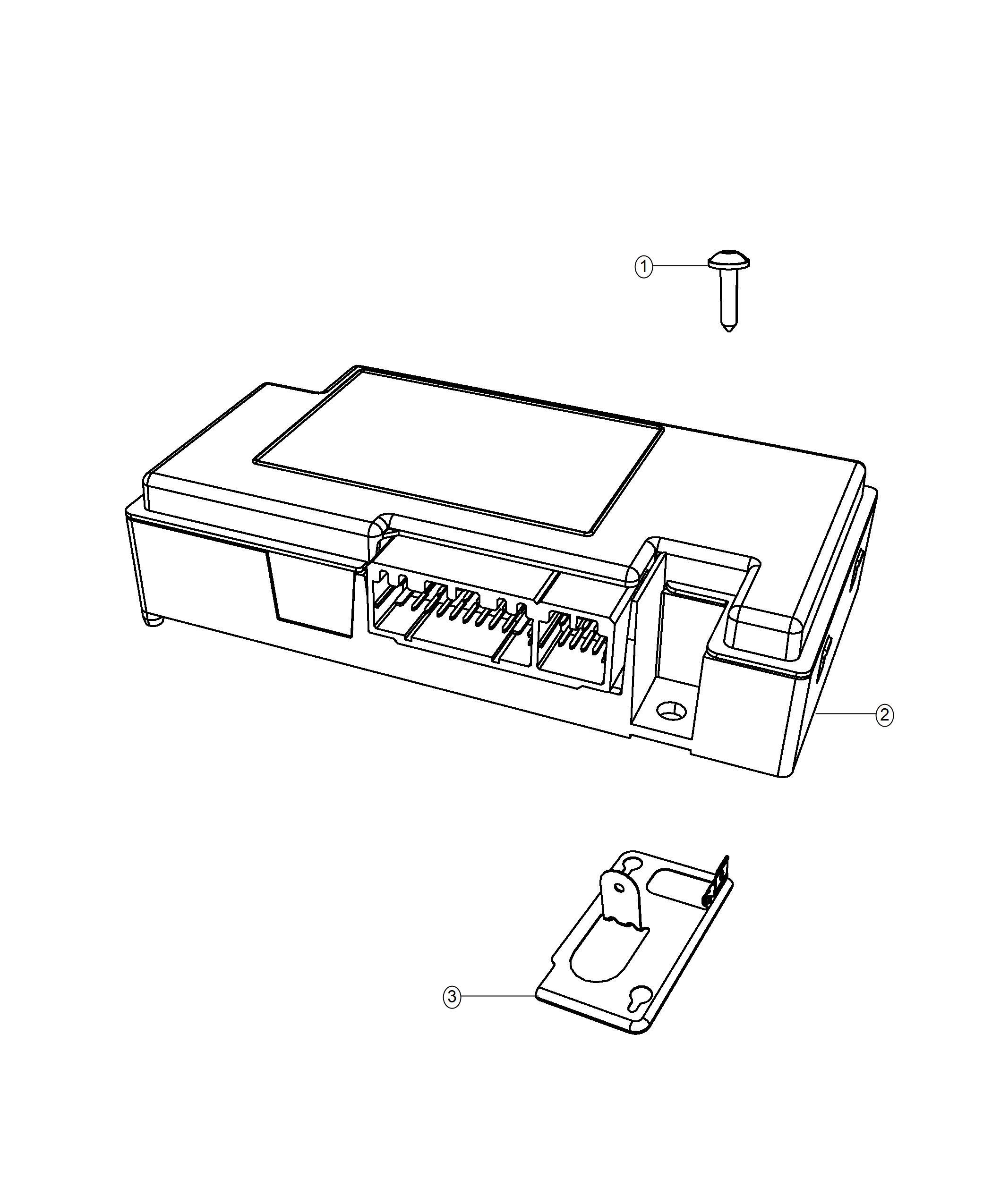 Dodge Journey Module Telematics