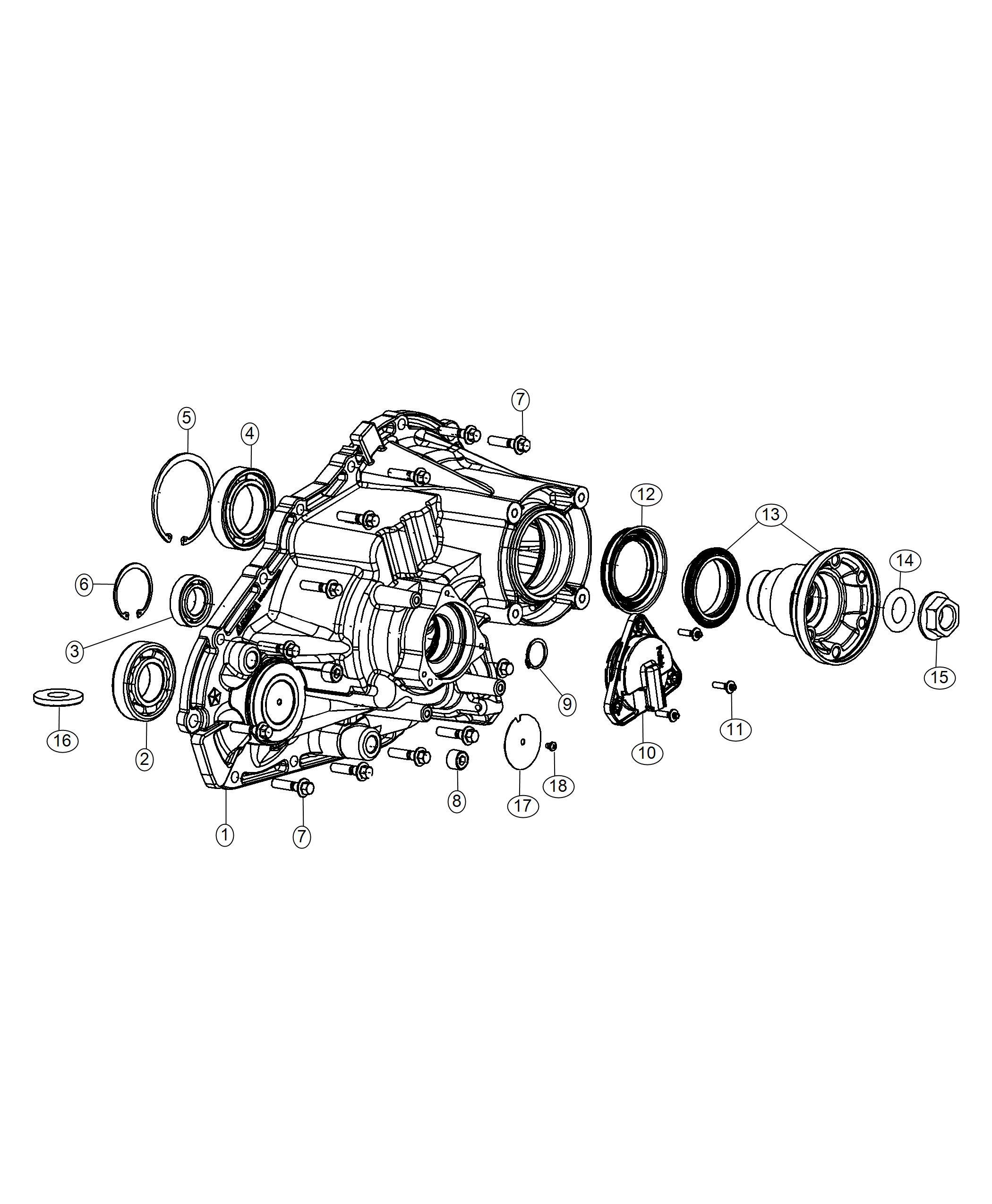 Dodge Durango Case Half Rear Demand Extension Quadra