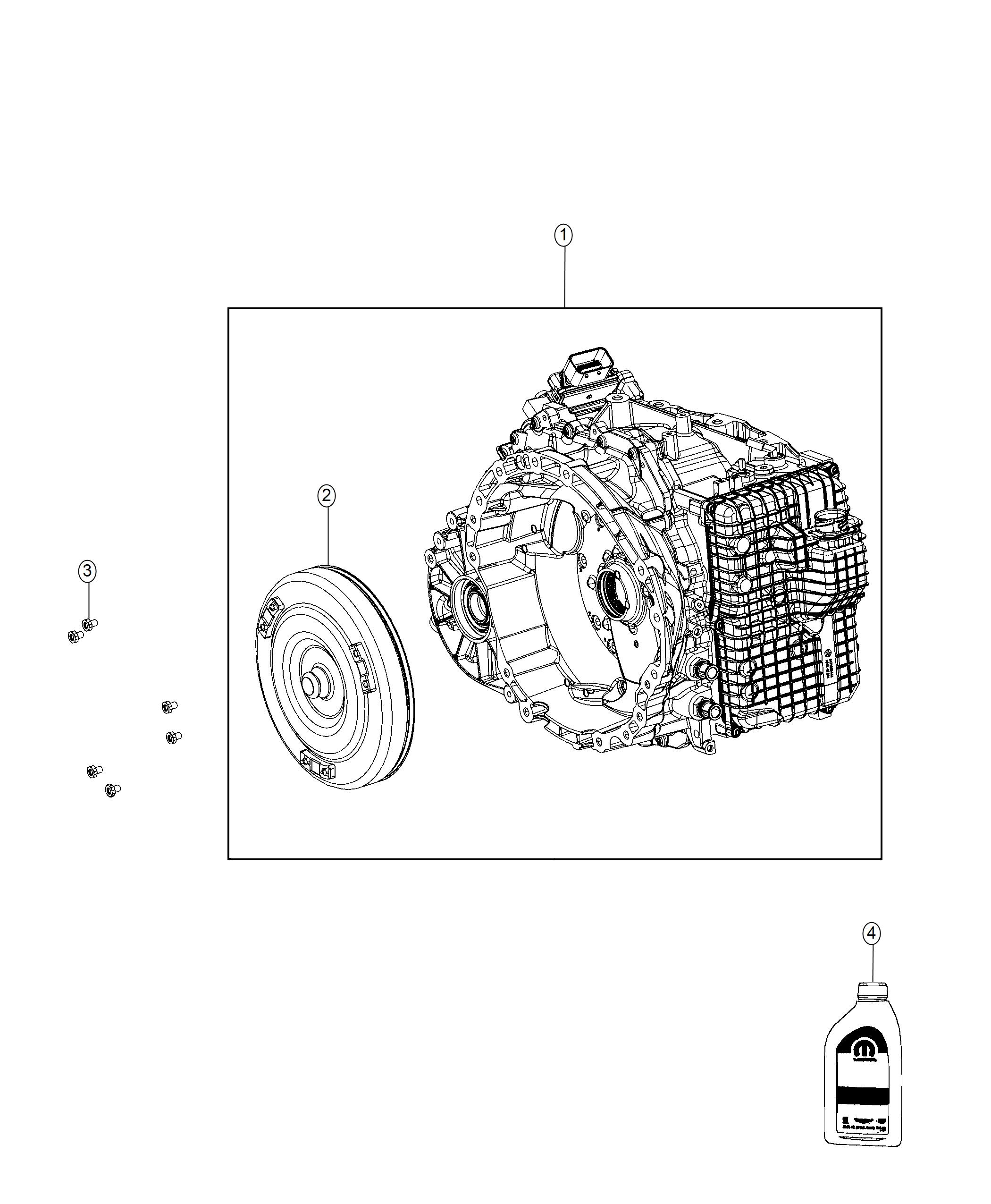 Jeep Compass Transmission kit. With torque converter. [4