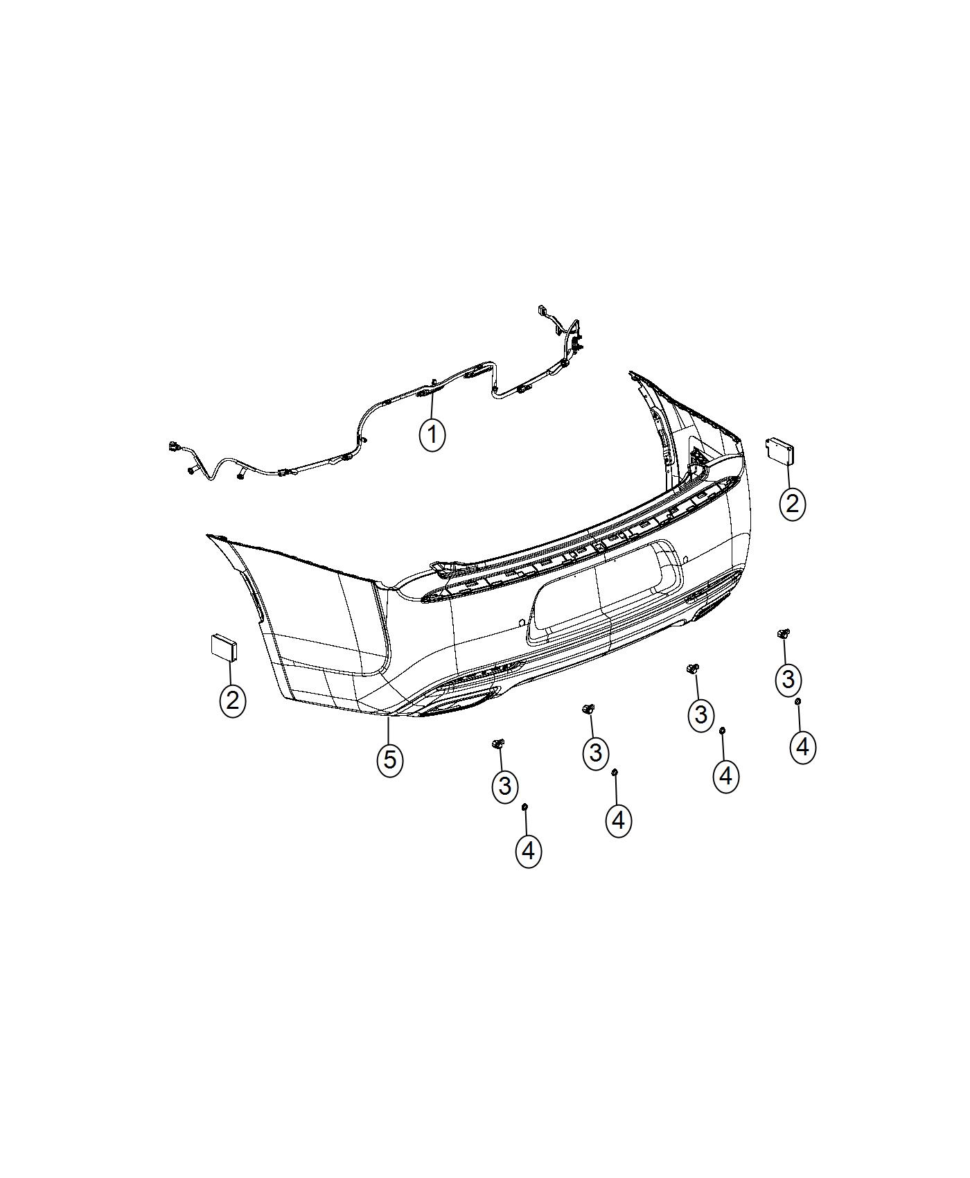 Chrysler 300 Wiring Rear Fascia Rear Fascias Parts