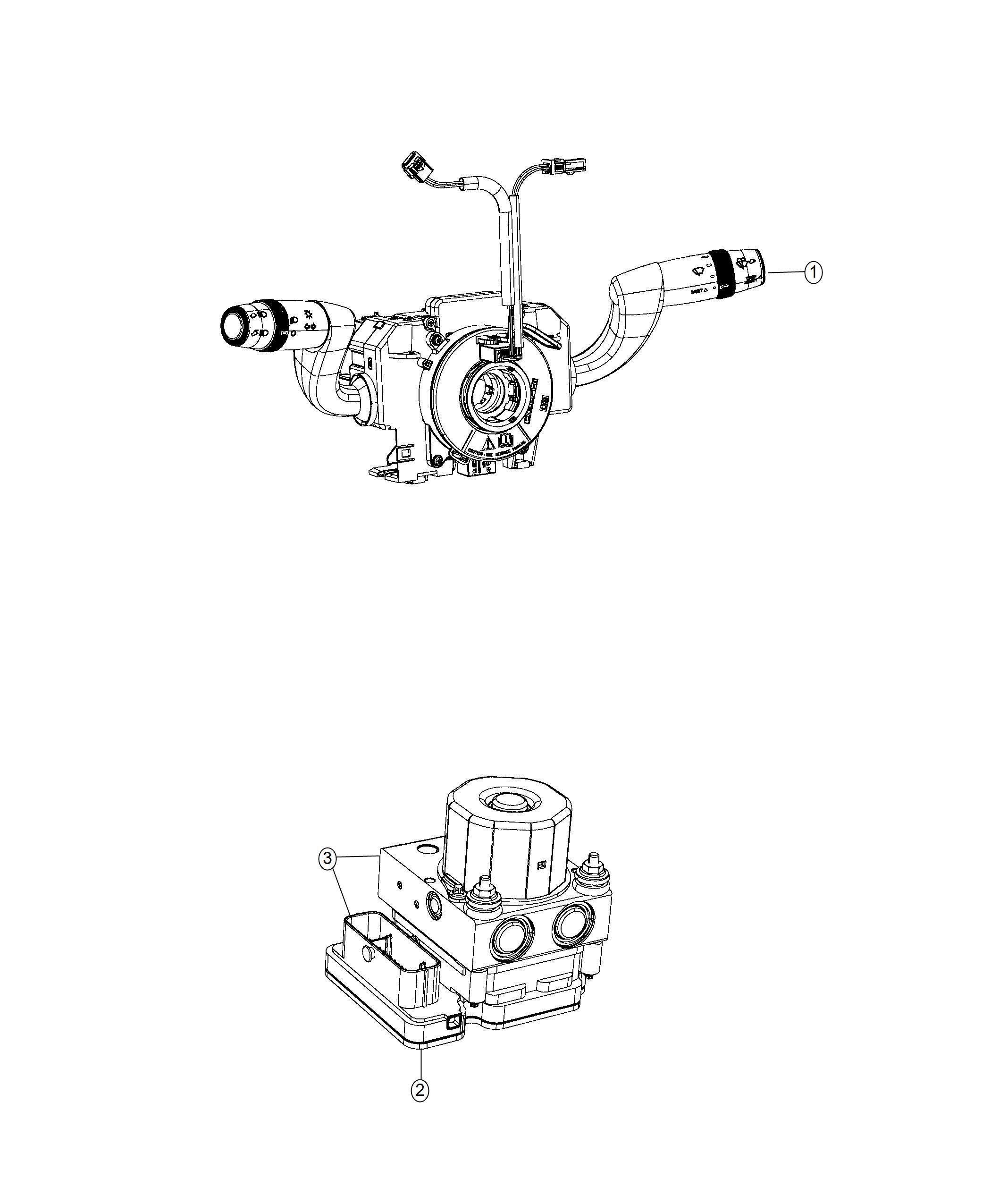 Ram Promaster City Wagon Module Steering Control St Trim No Description Available