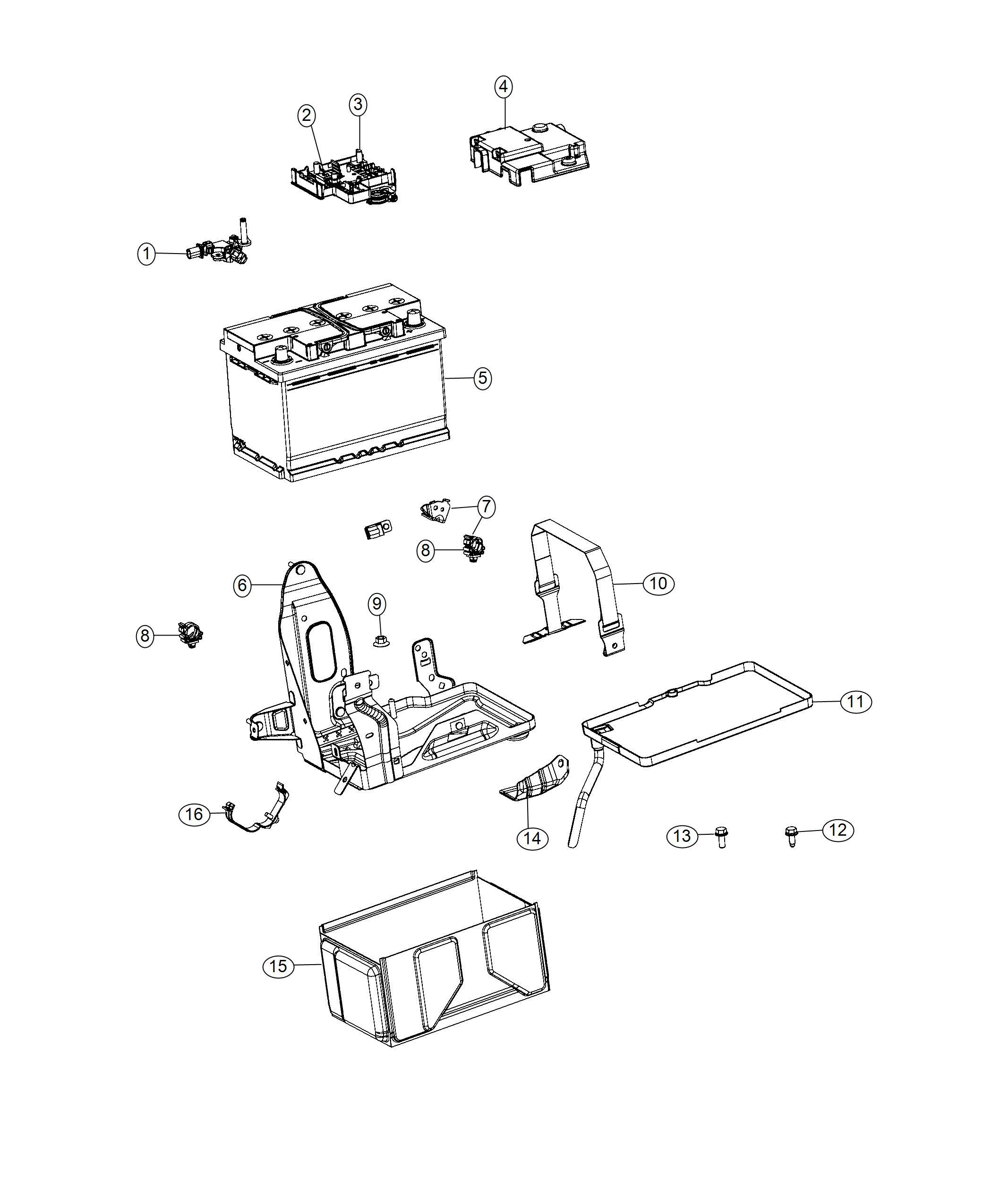 Ram Promaster City Wagon Sensor Battery