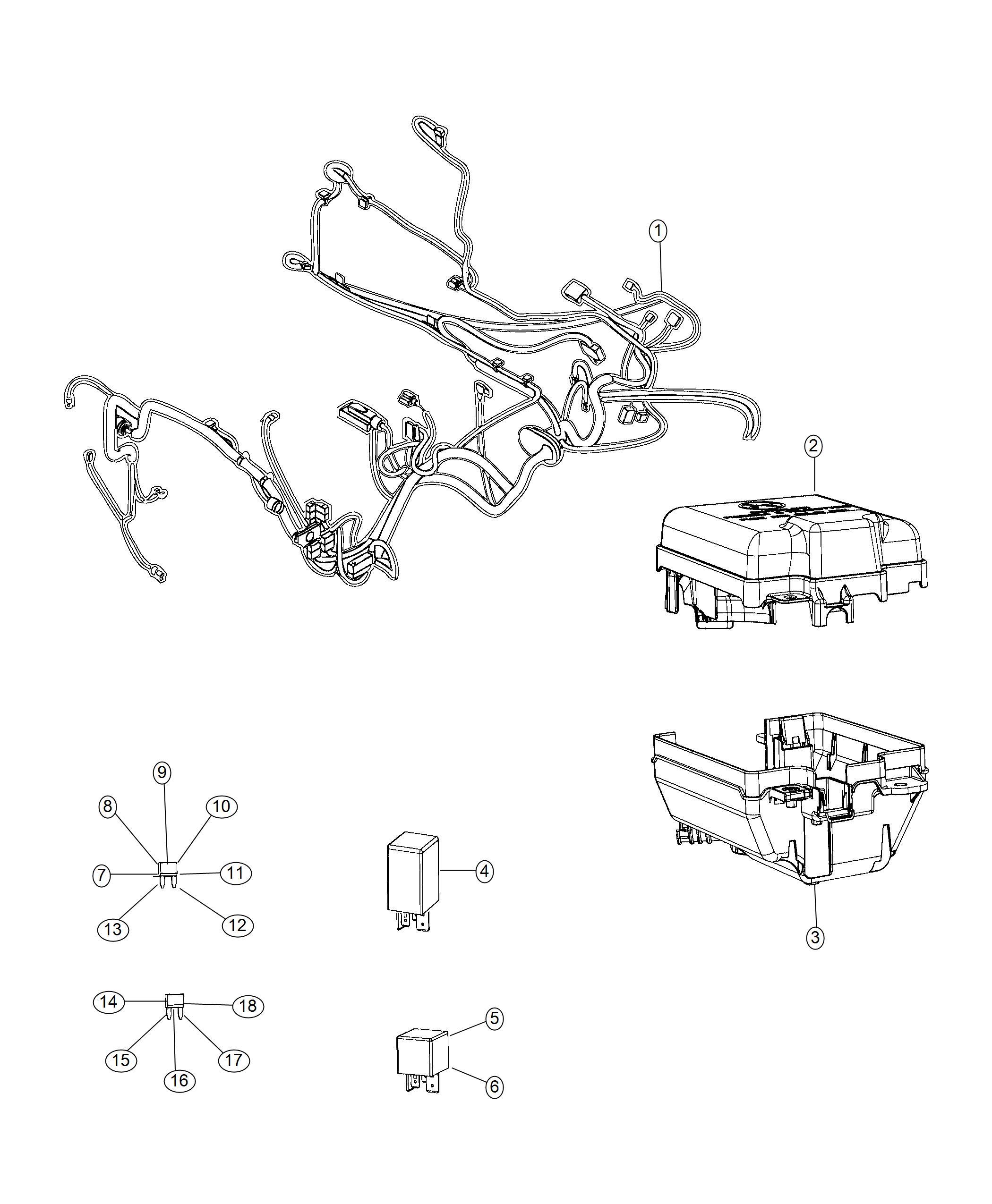 Ram Promaster City Wagon Relay Micro Power Iso