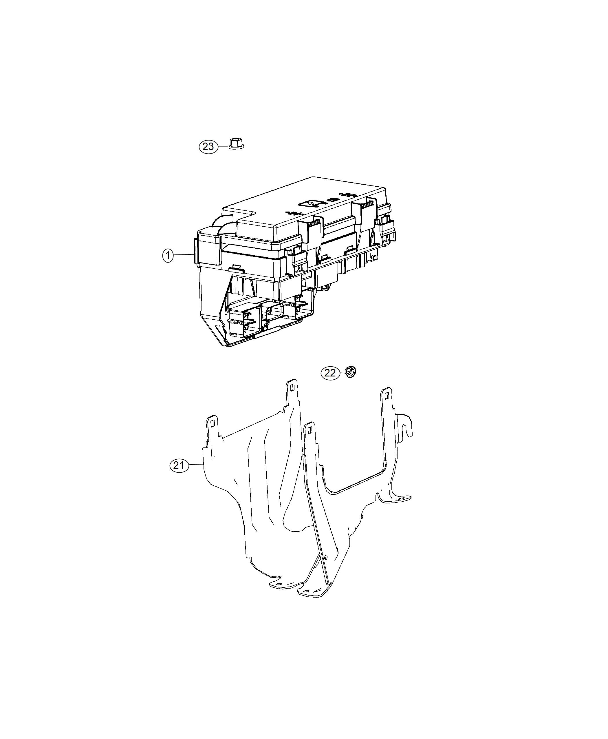 Dodge Grand Caravan Cover. Totally integrated power module