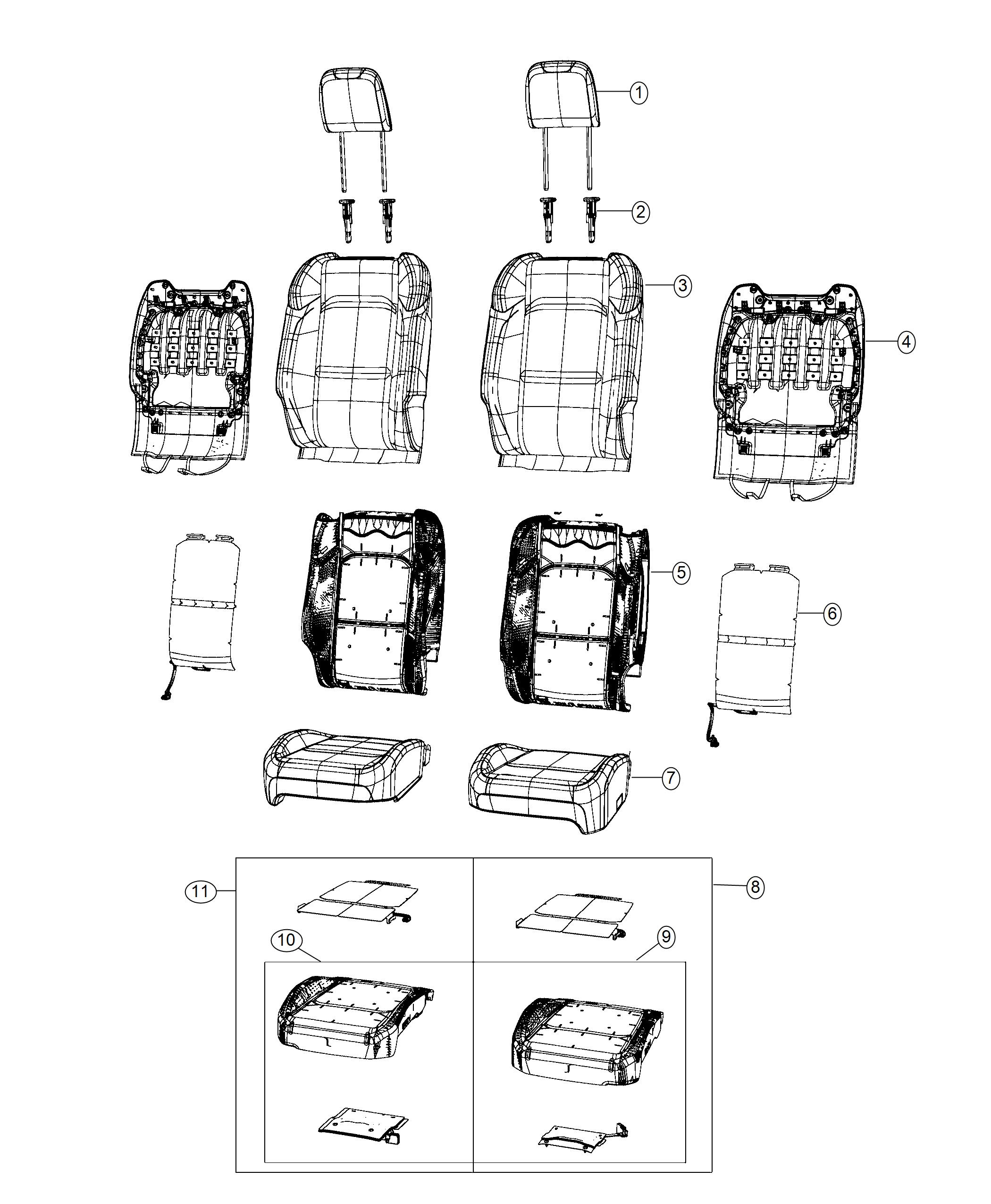 Jeep Wrangler Module Kit Occupant Classification