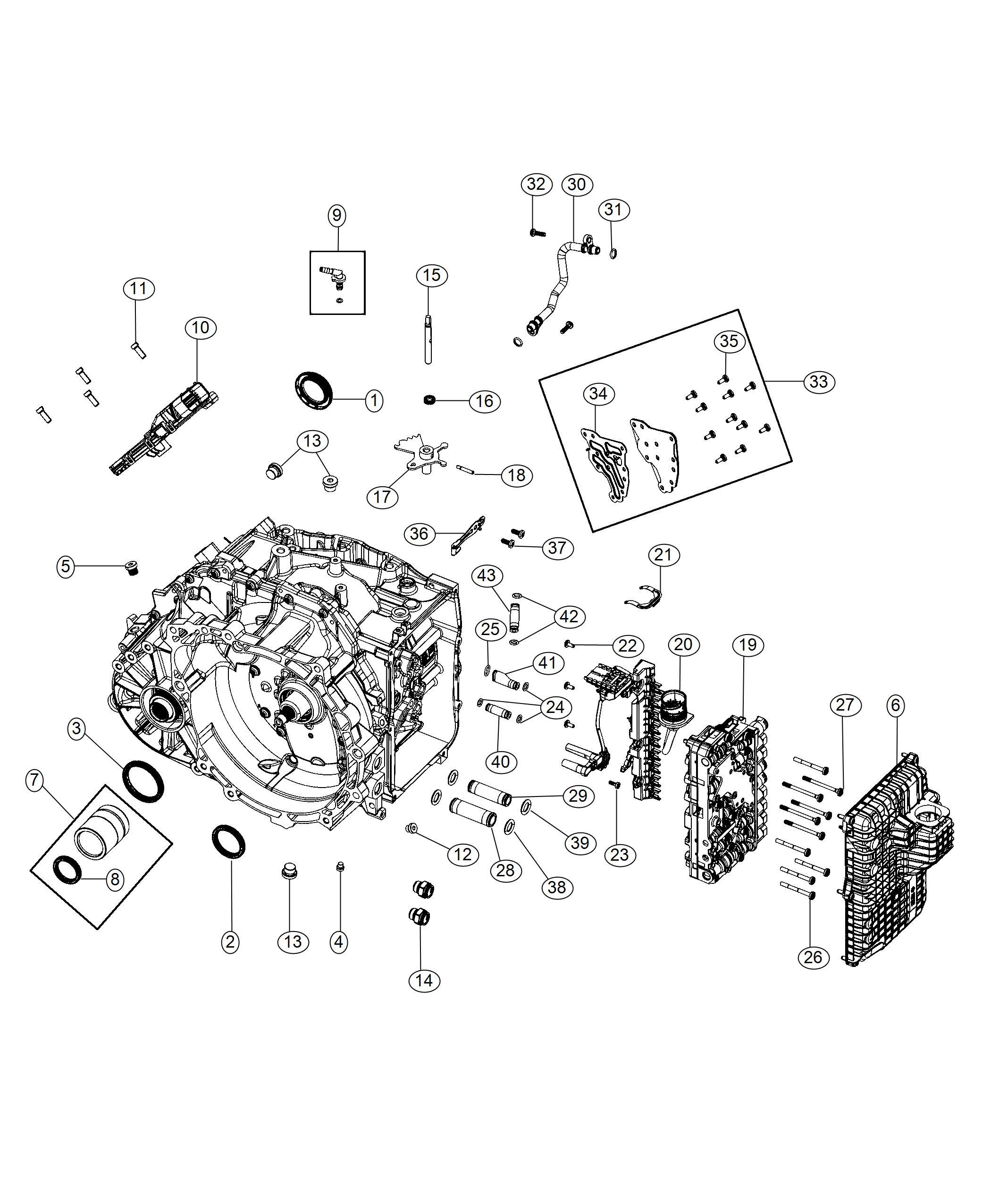 Ram Promaster City Wagon Module Transmission Control