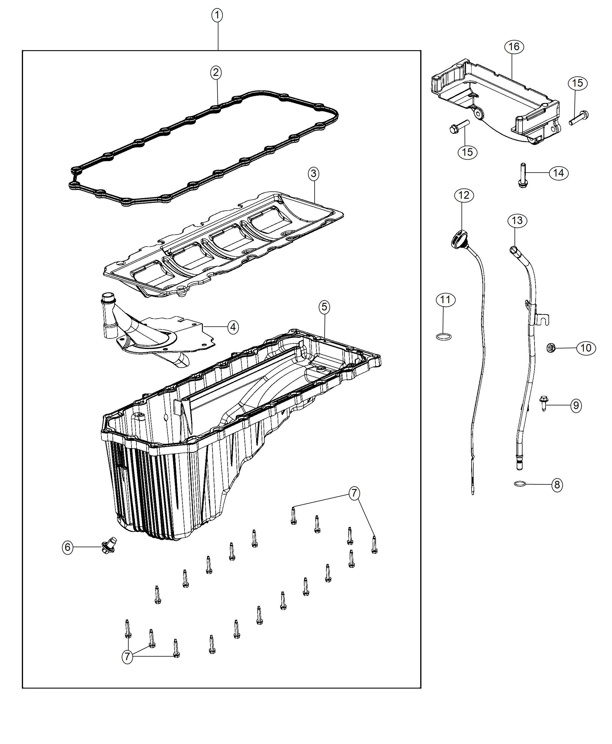 Jeep Grand Cherokee Pan Engine Oil Indicator Related