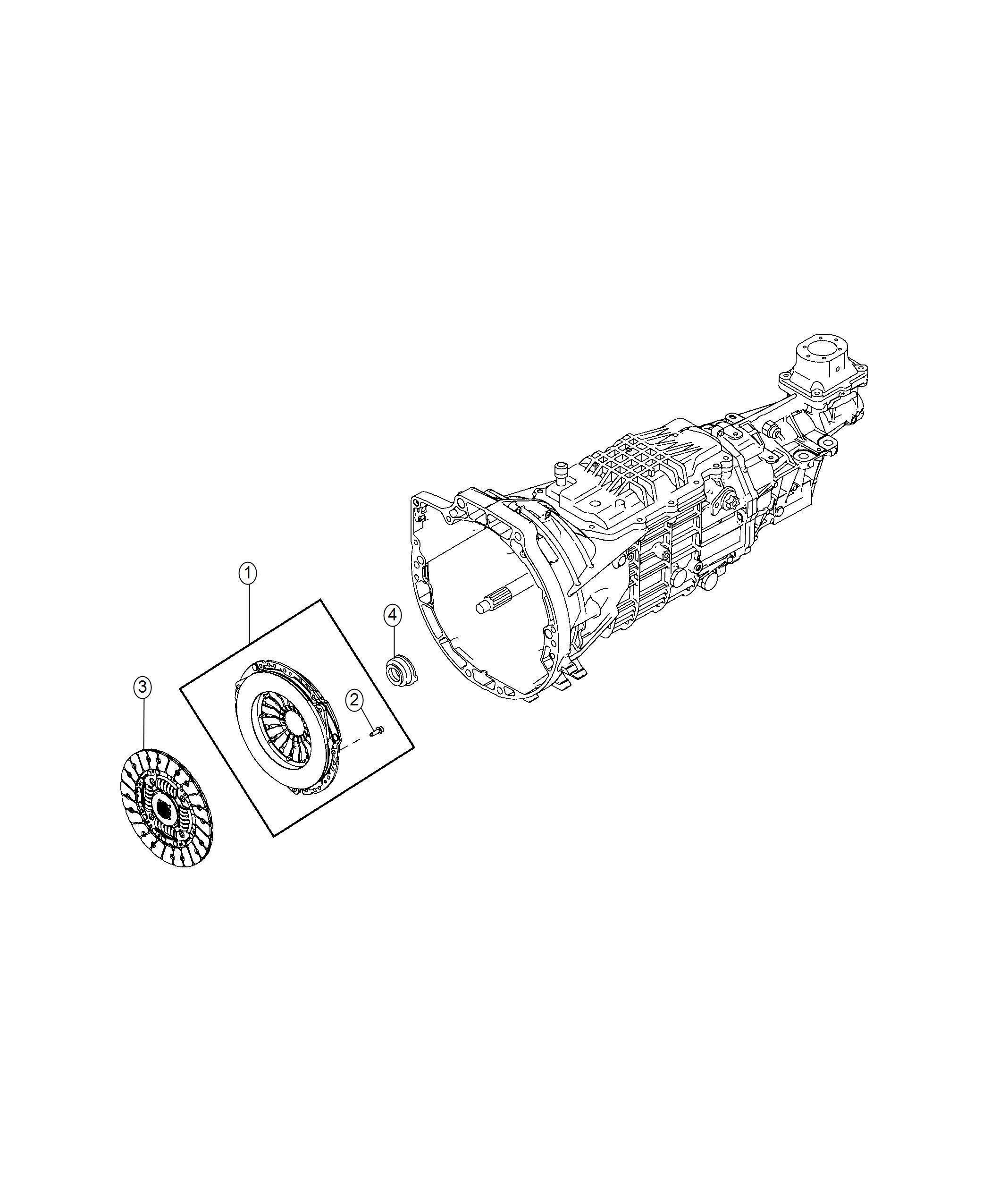 2018 Fiat SPIDER Bearing. Clutch release. Maintenance