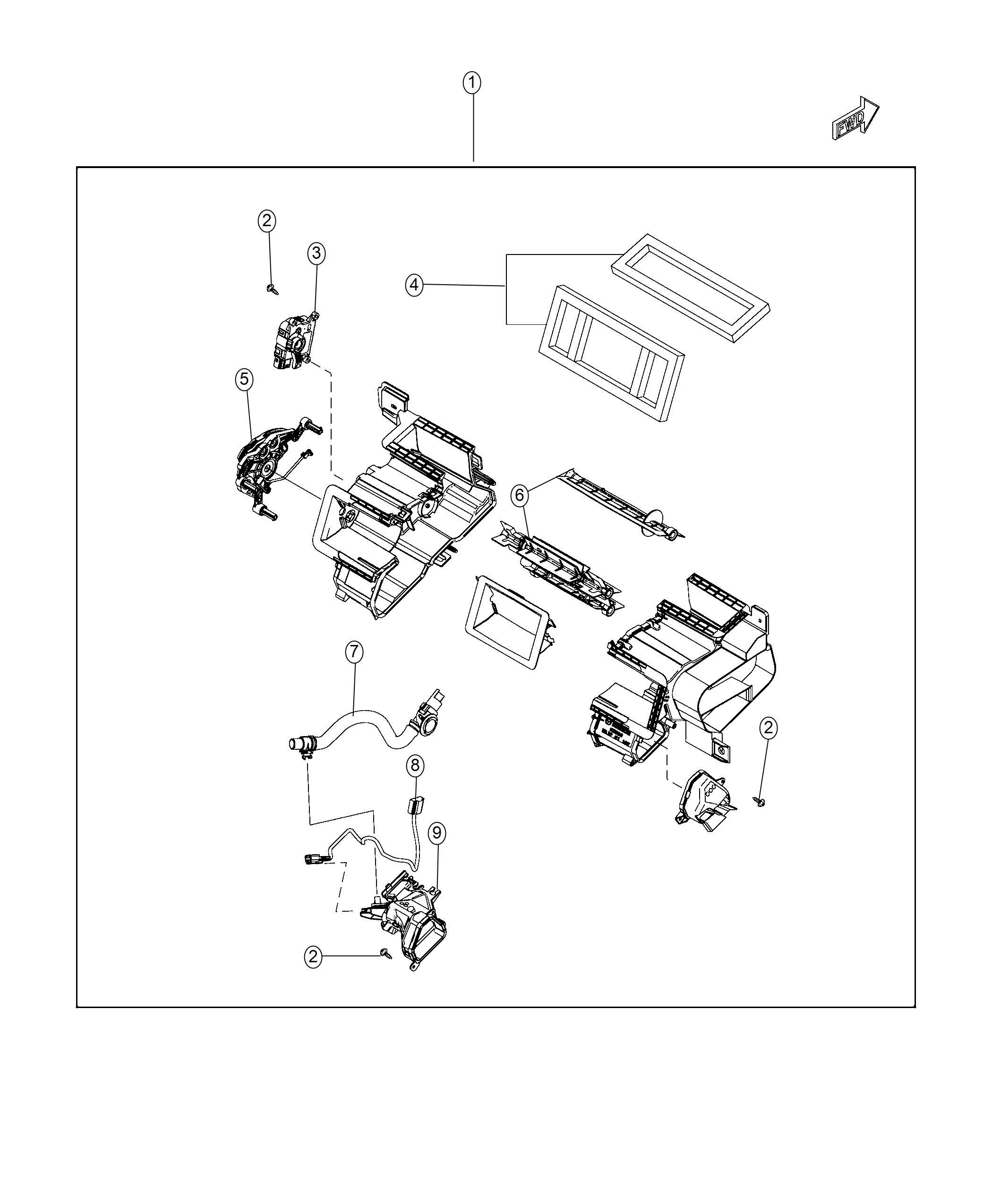 Fiat SPIDER Housing. Distribution. [air conditioning