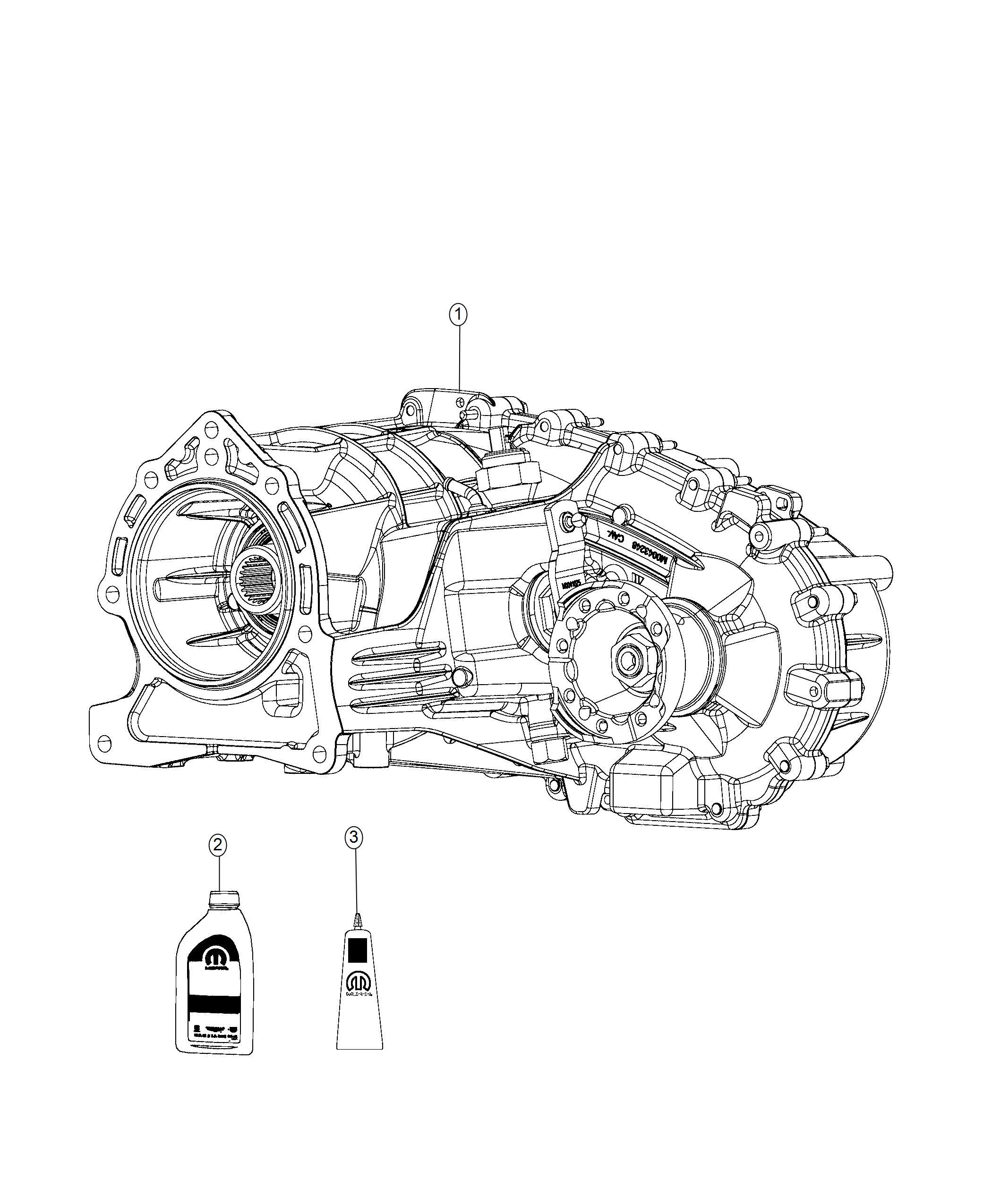 Jeep Wrangler Transfer case. Mp1622c. Trac, time, system