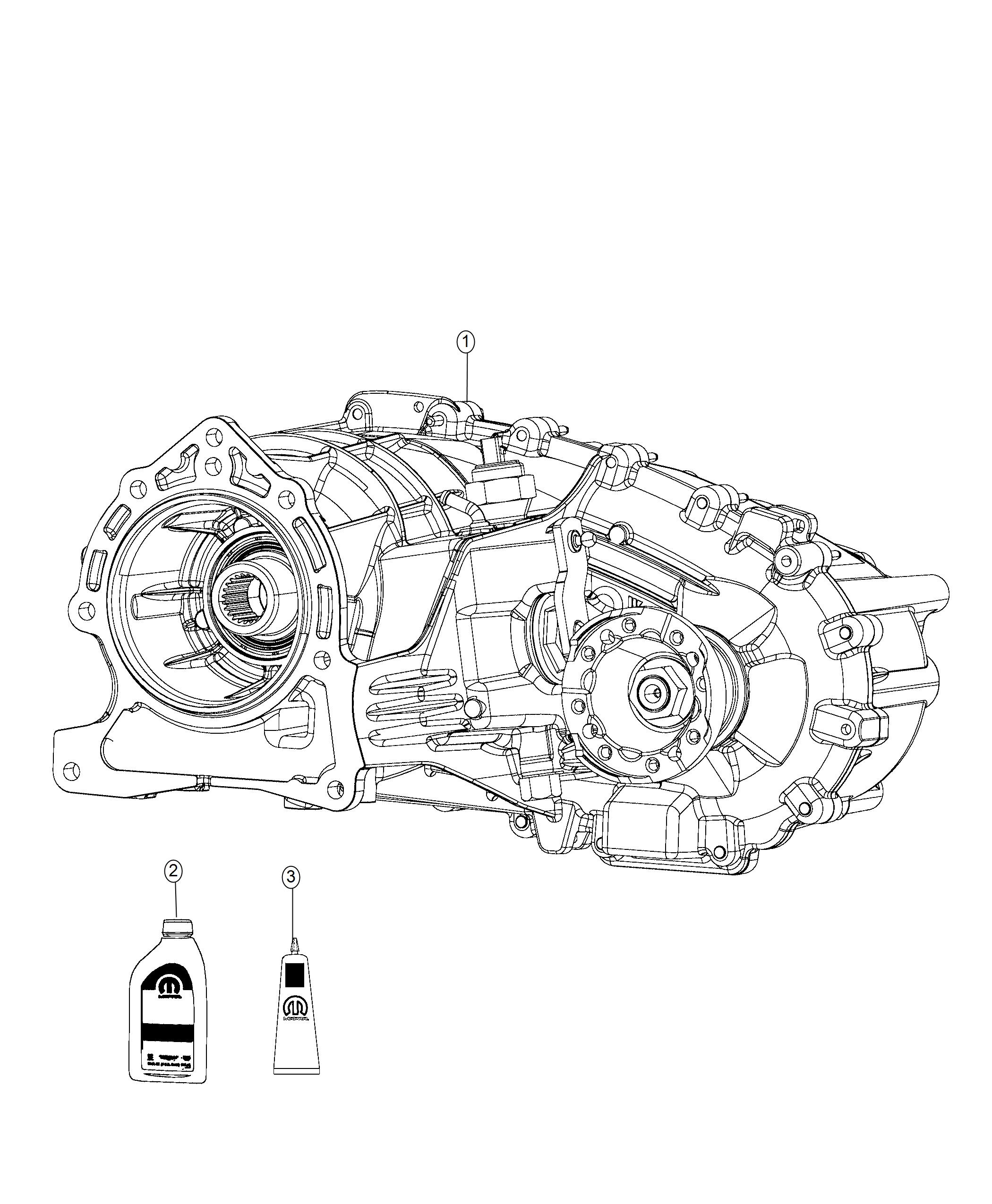 Jeep Wrangler Transfer case. Mp3022. Full, trac, time