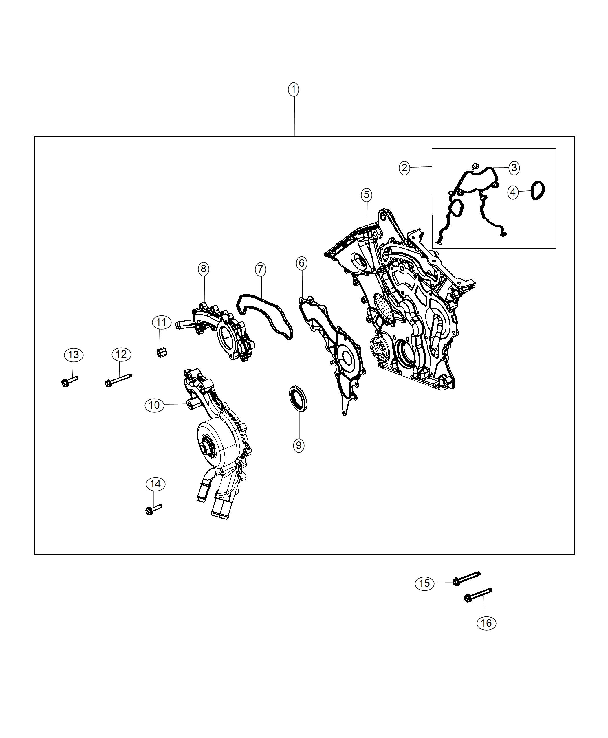 Jeep Wrangler Cover Chain Case