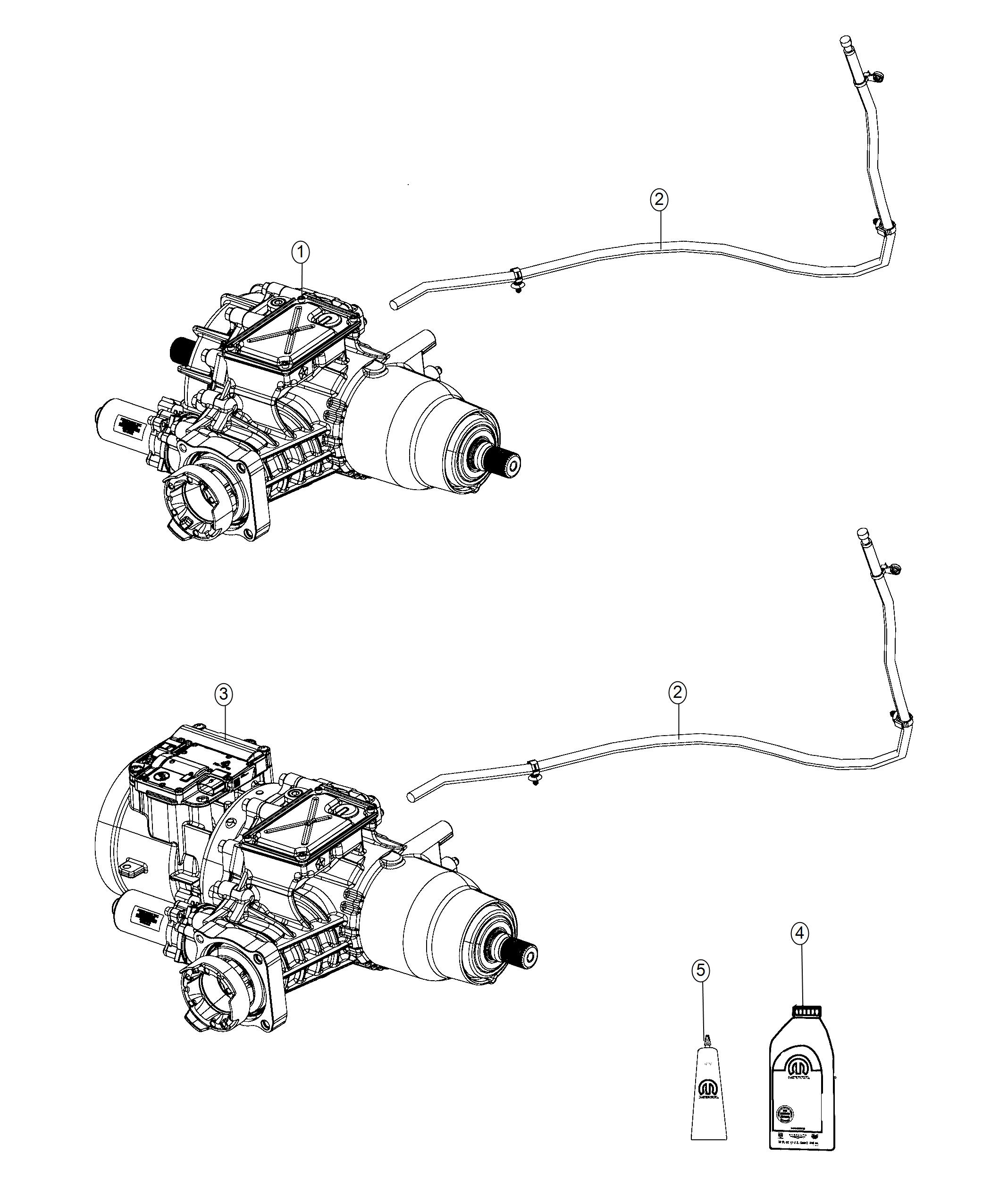 Jeep Cherokee Differential. Rear axle. [jeep active drive
