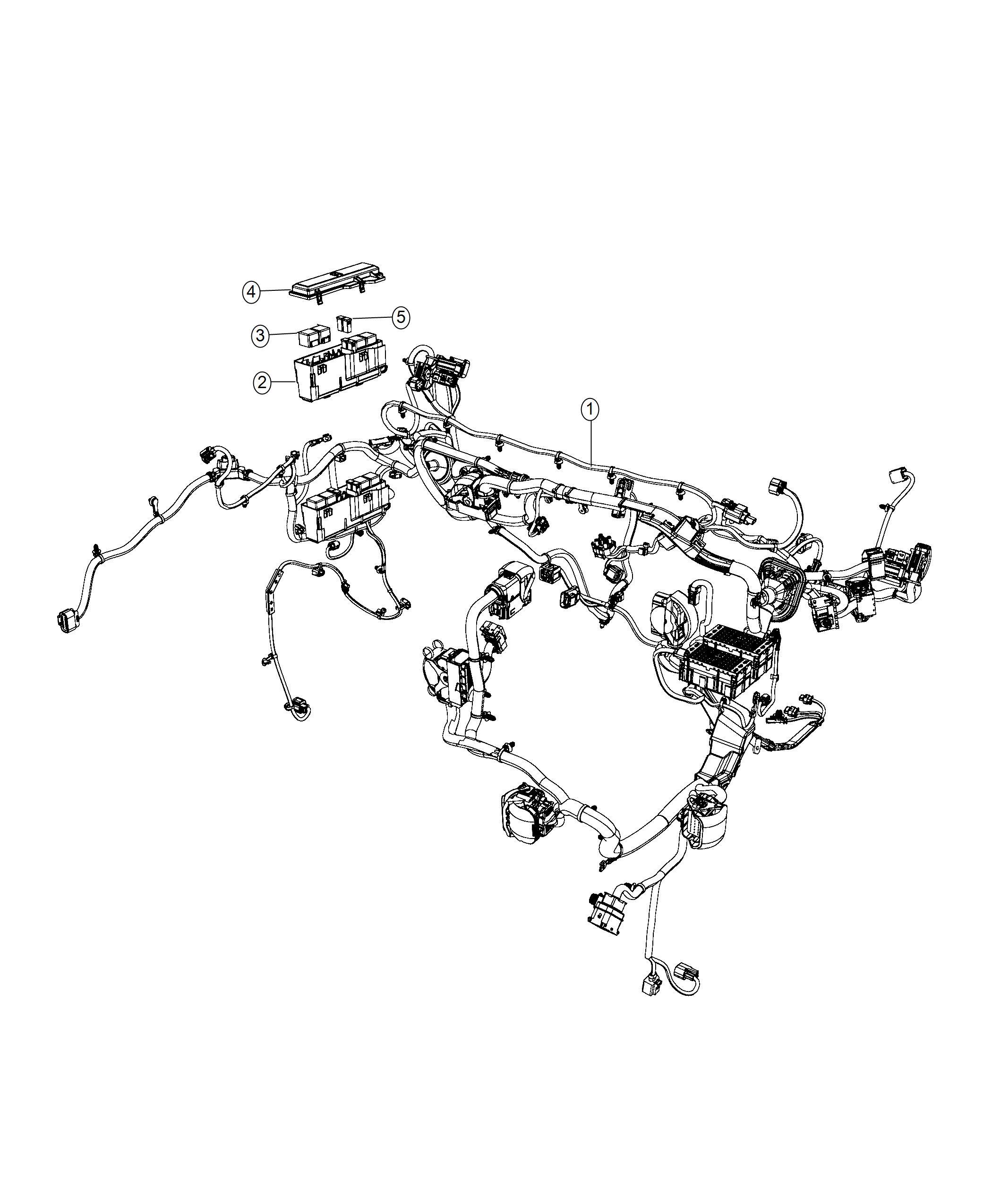 Jeep Cherokee Wiring. Dash. [gasoline particulate filter
