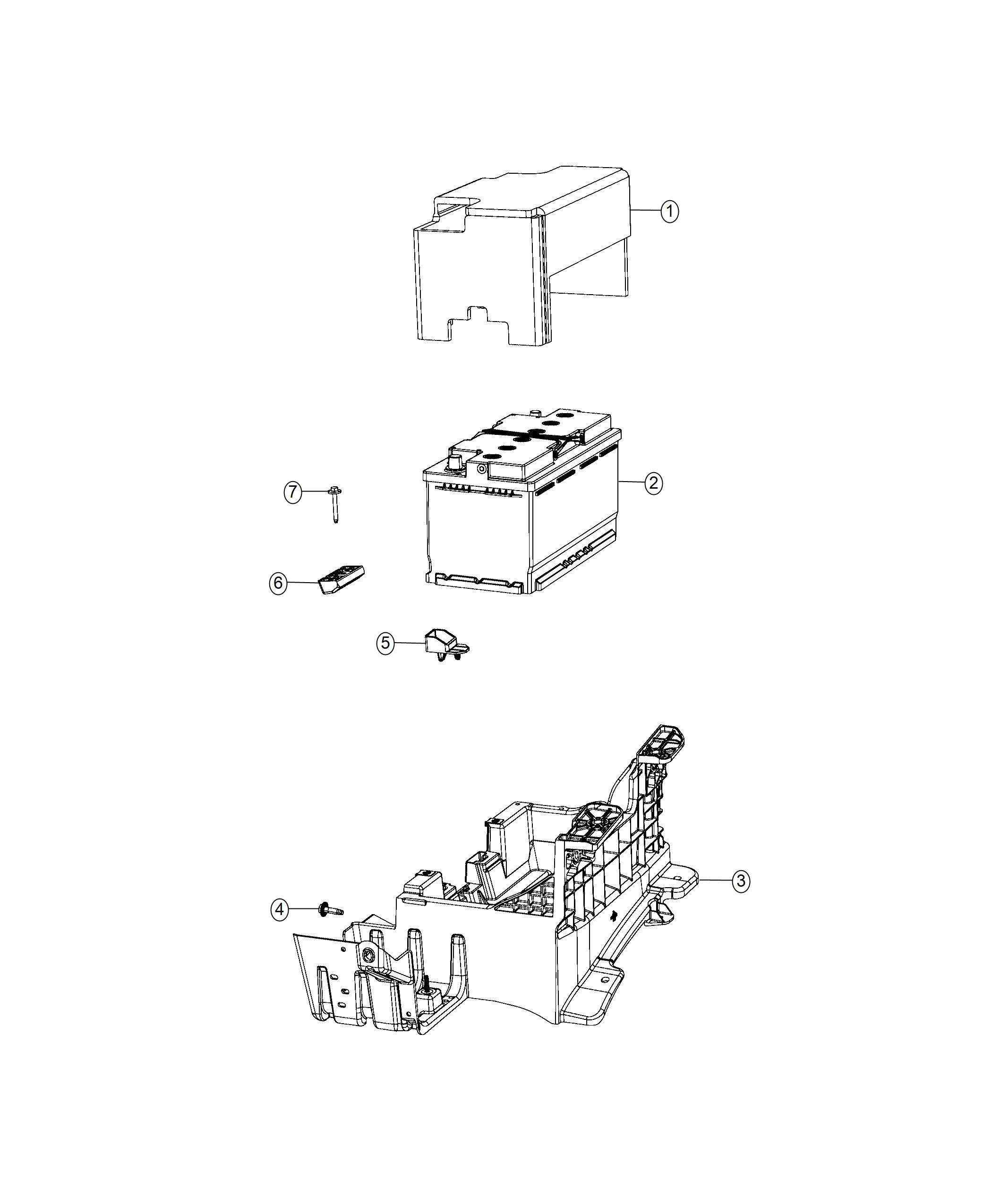 Dodge Challenger Battery Storage Us Amp