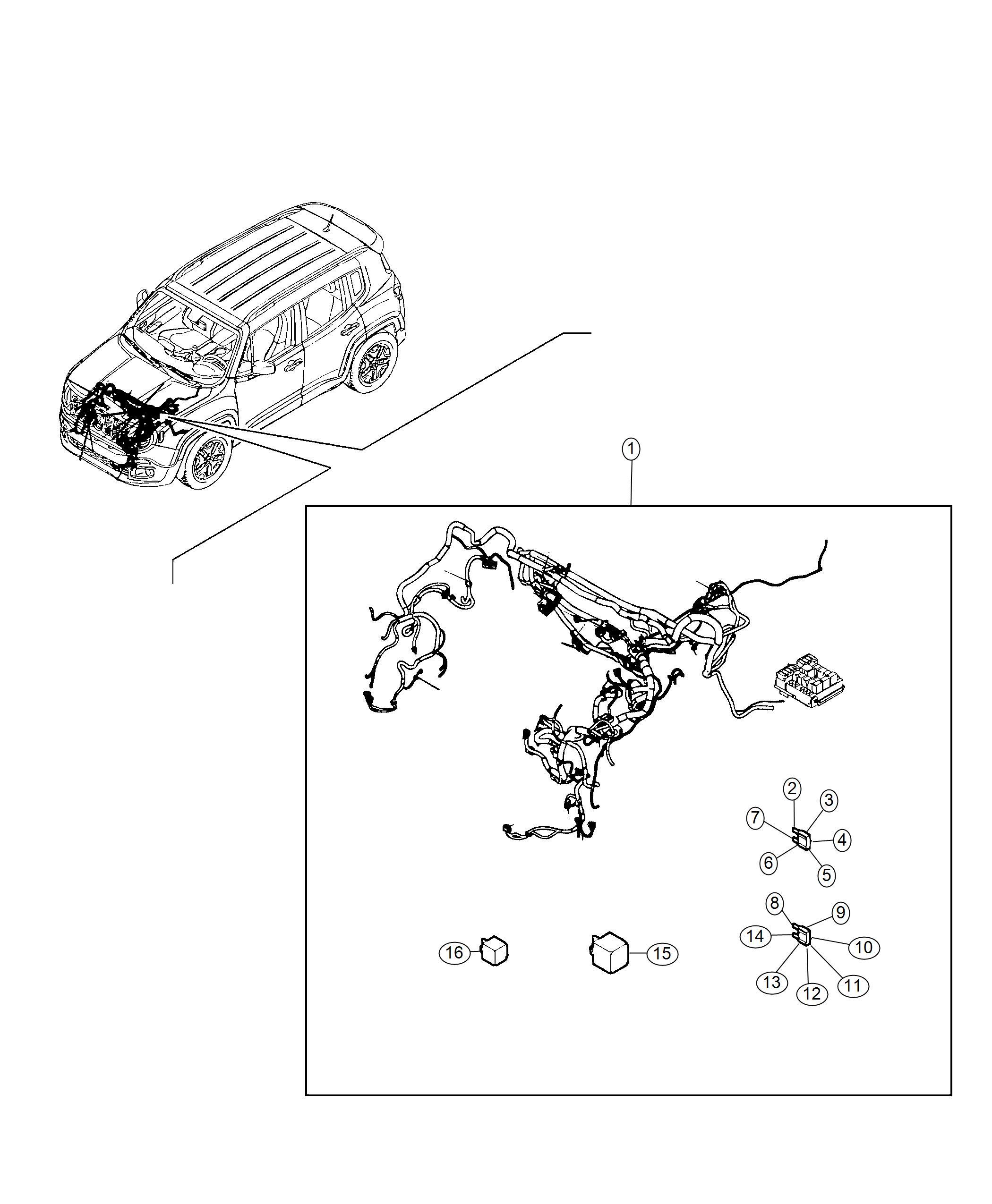 Jeep Renegade Fuse Maxi 40 Amp Orange Canada Export