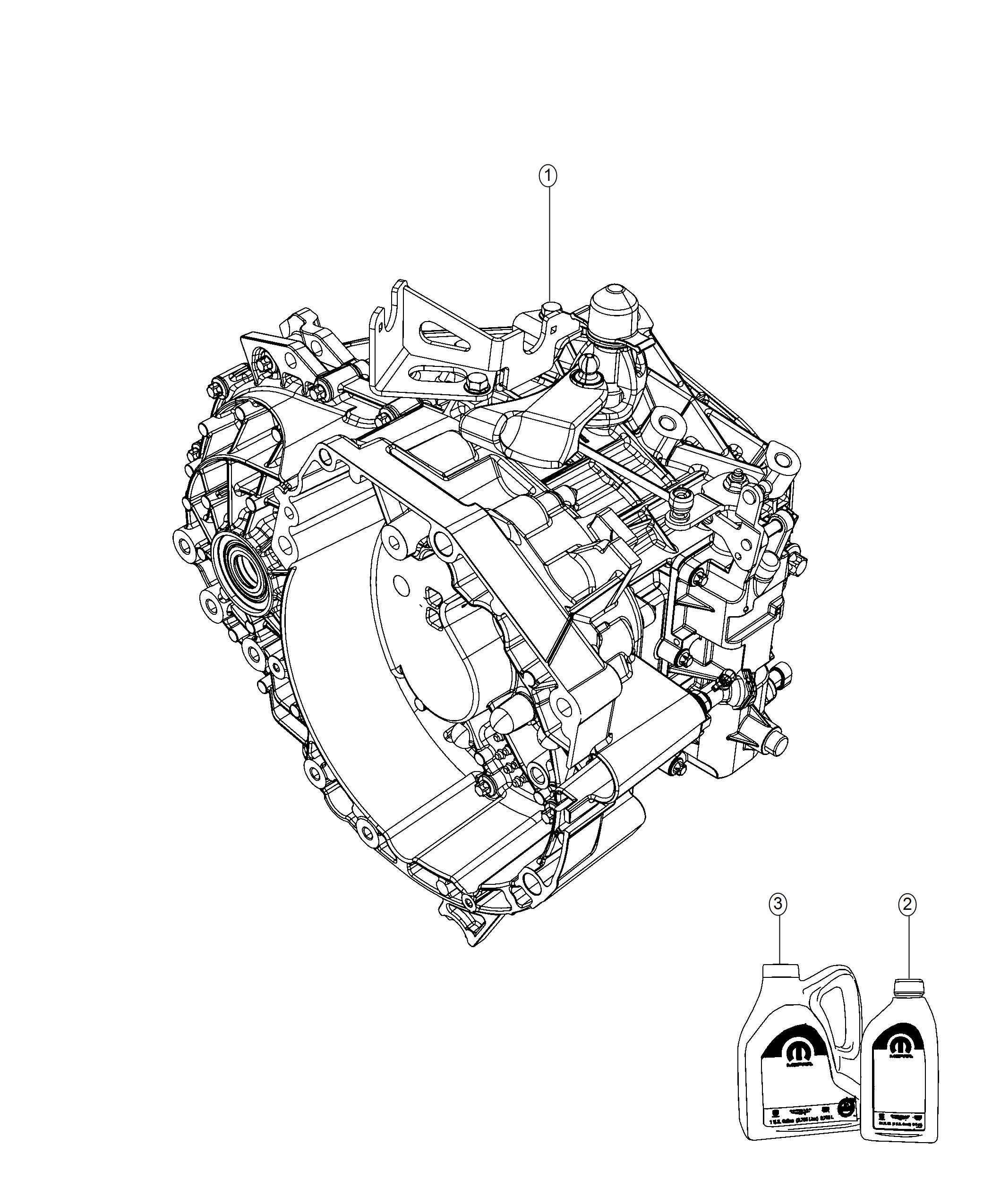 2018 Jeep Renegade Fluid. C series transmission, c635