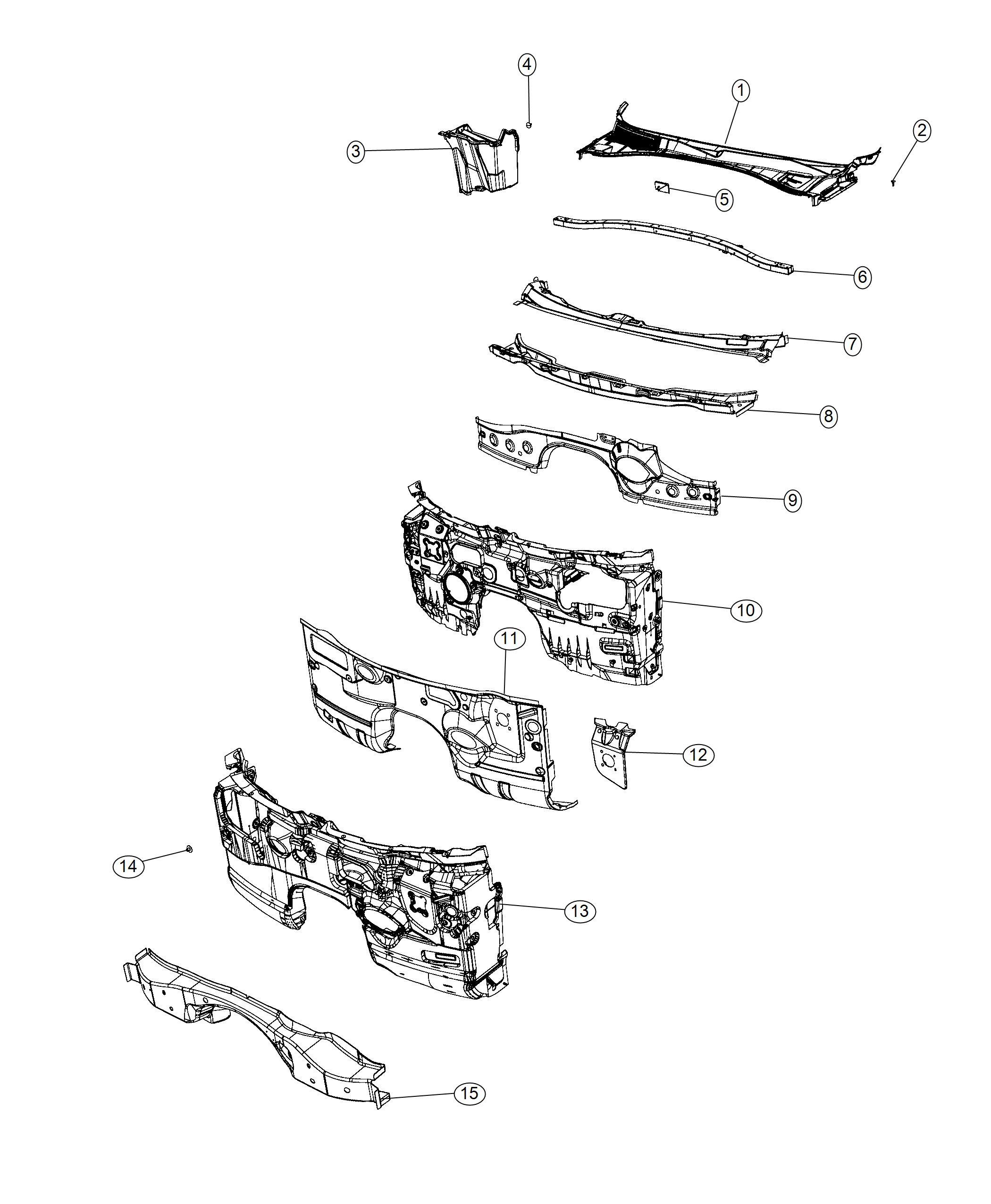 2012 Dodge Charger Silencer. Dash panel. Engine, vvt, hemi