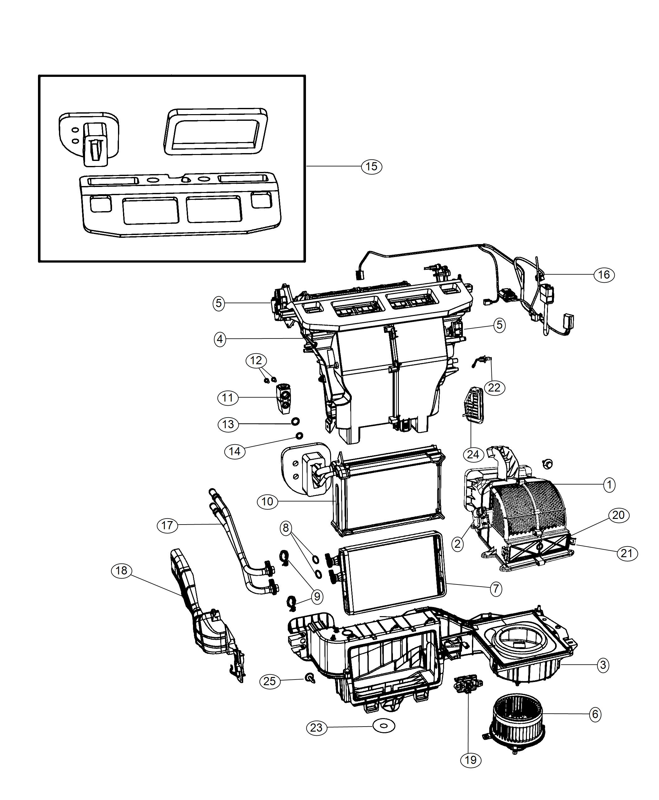 Dodge Grand Caravan Motor Blower With Wheel Zone