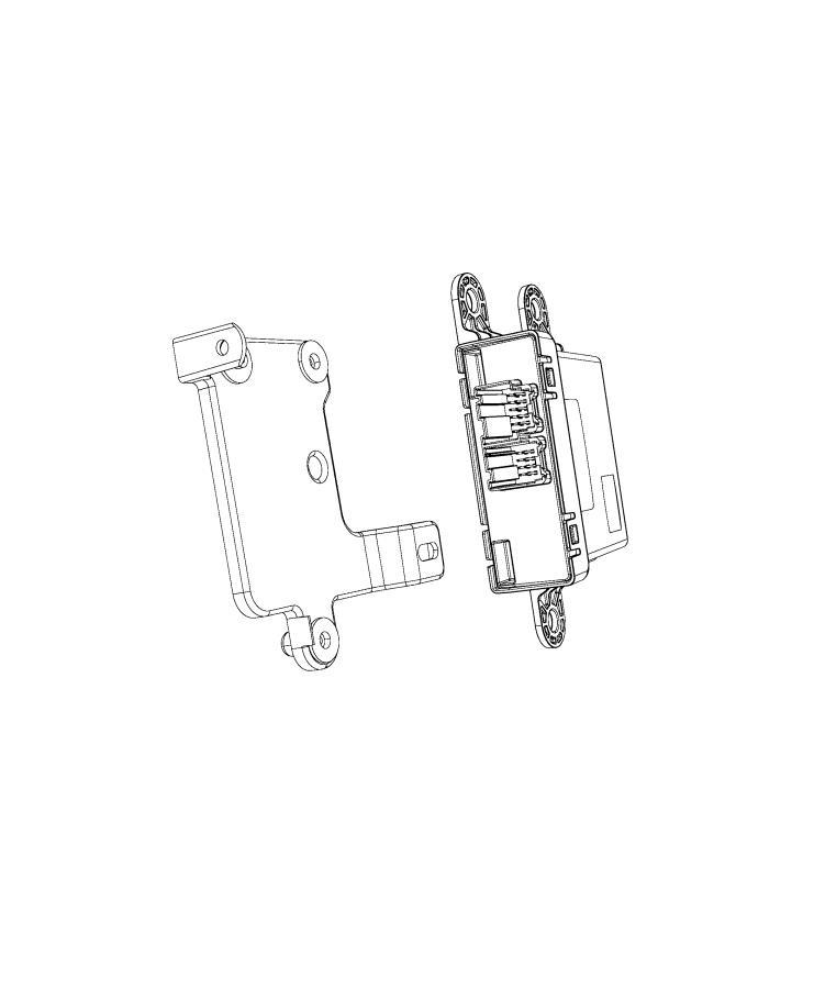 Dodge Durango Bracket. Module. [instrument panel parts