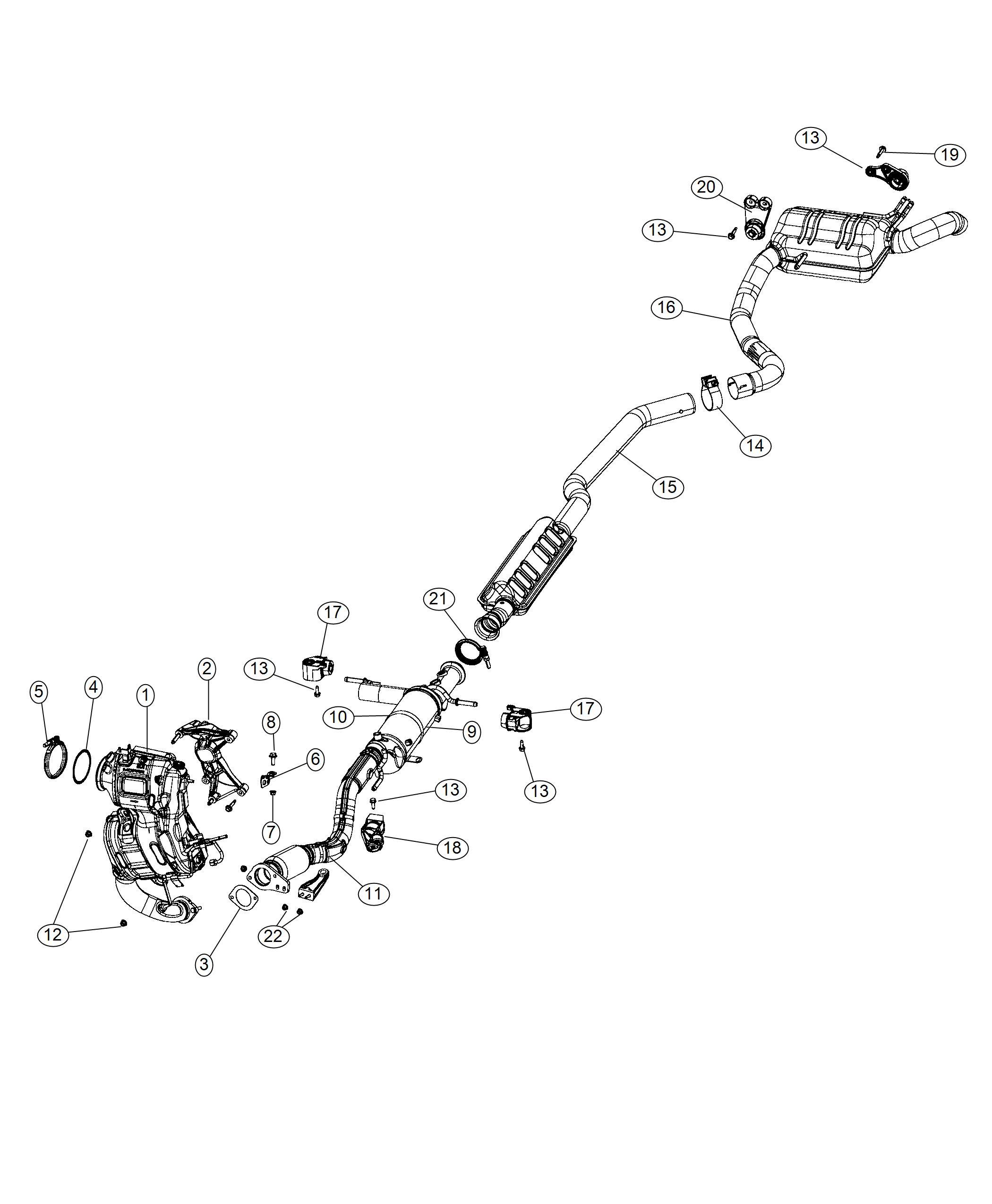 Jeep Cherokee Bracket Exhaust