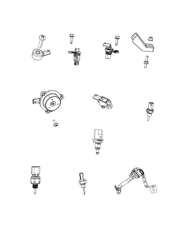 Jeep Wrangler Sensor. Crankcase pressure, pressure. Canada