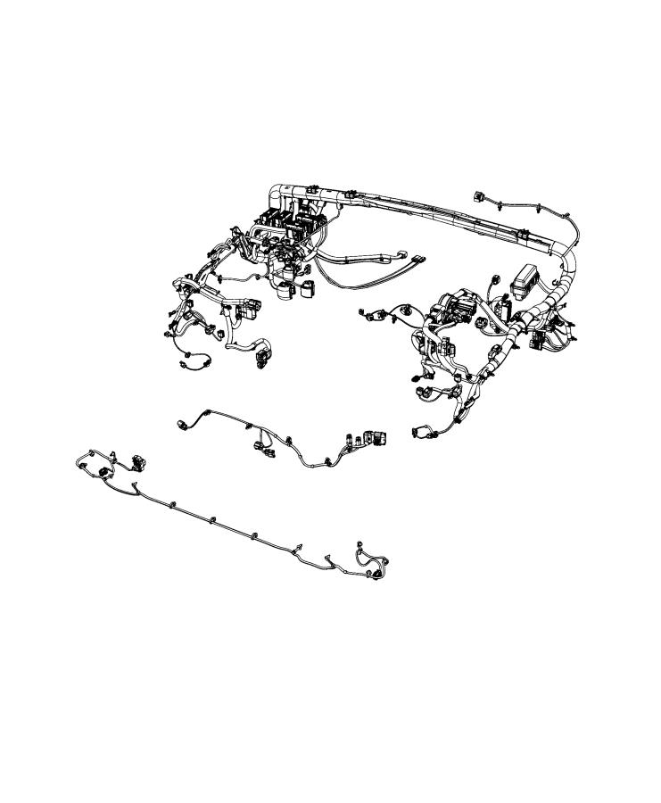 Jeep Wrangler Wiring. Dash. [lma], [7 and 4 pin wiring