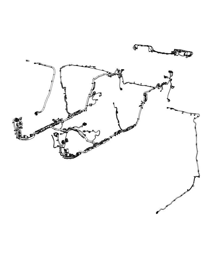Jeep Wrangler Antenna cable. Sdars. [gps antenna input