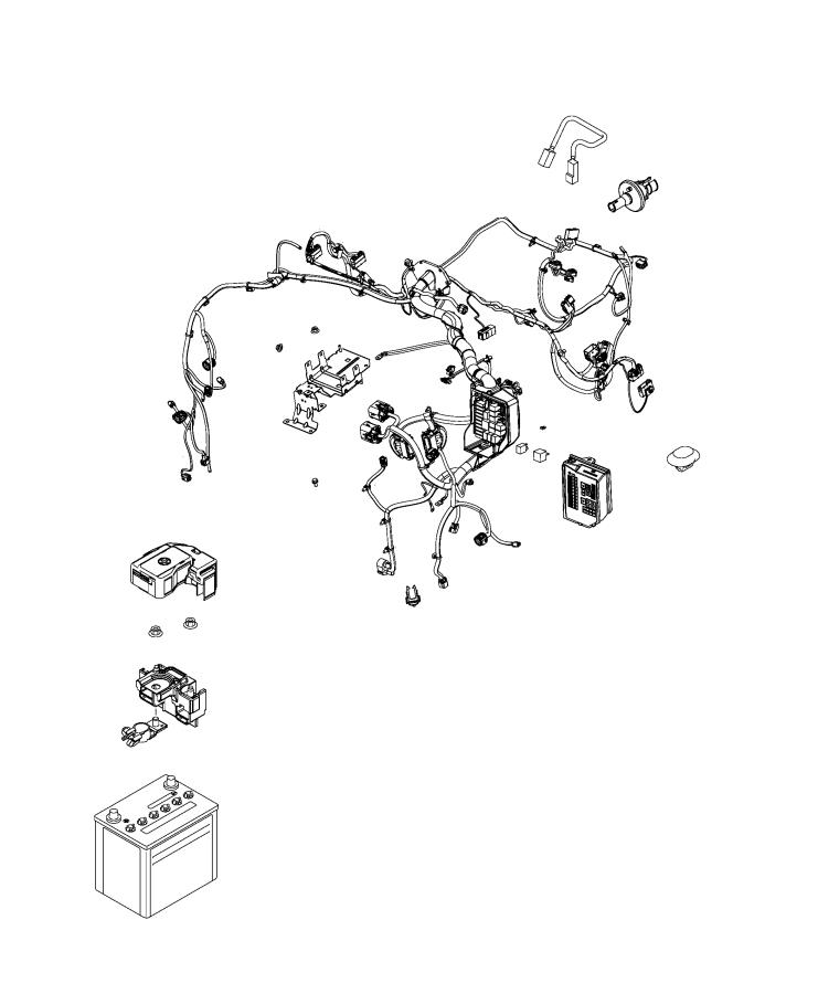 2020 Fiat 124 Spider Battery. Storage. Electrical