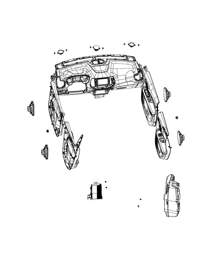 Jeep Compass Nut. Hex, hex flange. M6x1. Canada, export