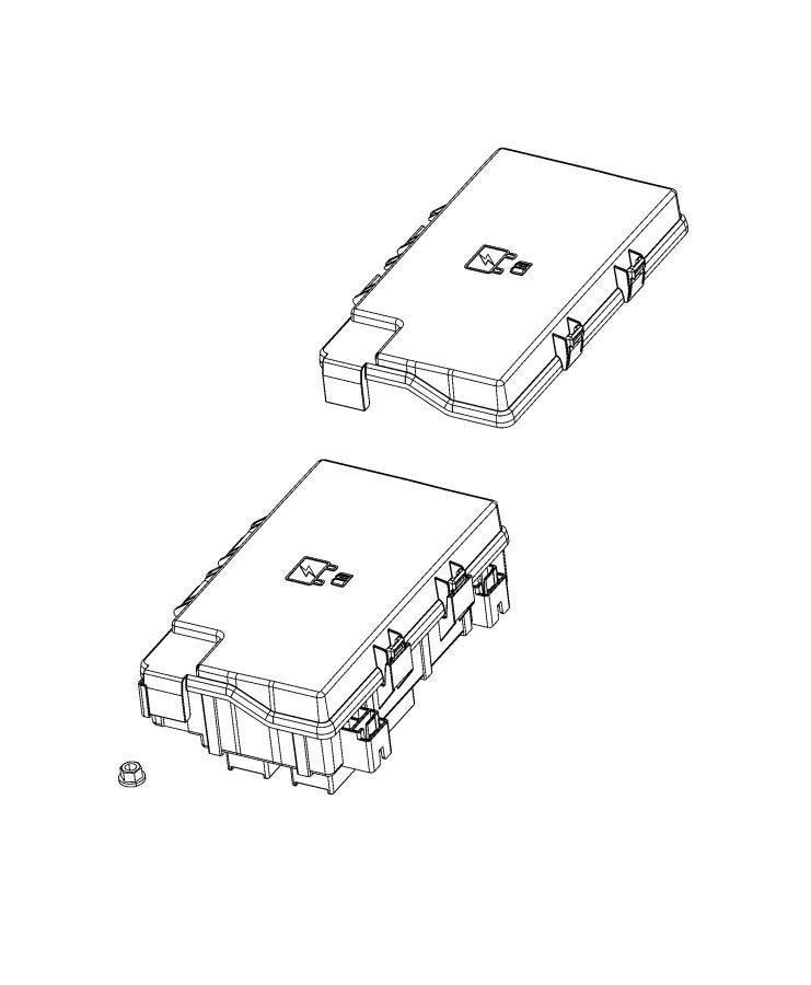 Ram 2500 Fuse cartridge. 60 amp. Power, fca, distribution