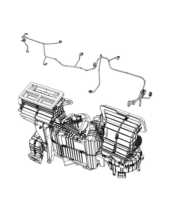 Ram 2500 Wiring. Used for: a/c and heater. [haa