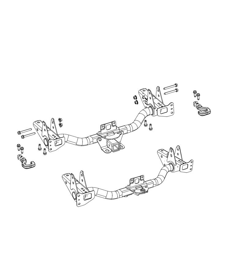 2021 Jeep Gladiator Hitch. Trailer. [class iv receiver