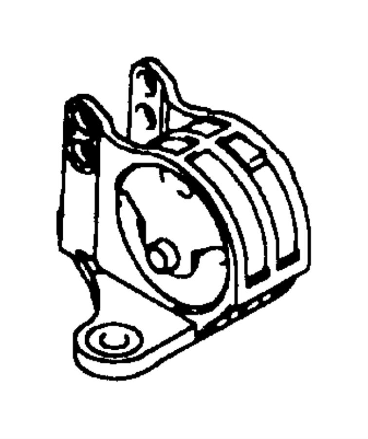 Chrysler Sebring Bracket. Transmission mount. Manual