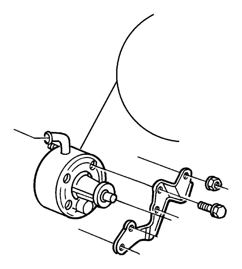 1998 Dodge Grand Caravan Pump. Power steering. W/3.0l, 3