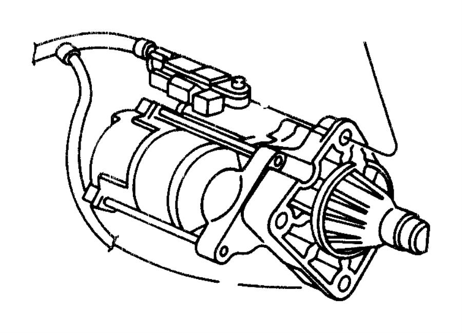 2001 Dodge Intrepid Starter. Engine. Starters, motor