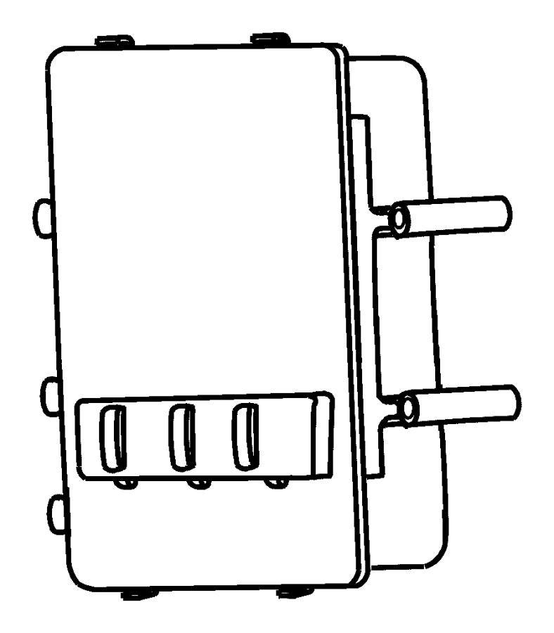 Dodge Ram 2500 Module. Powertrain control. Federal